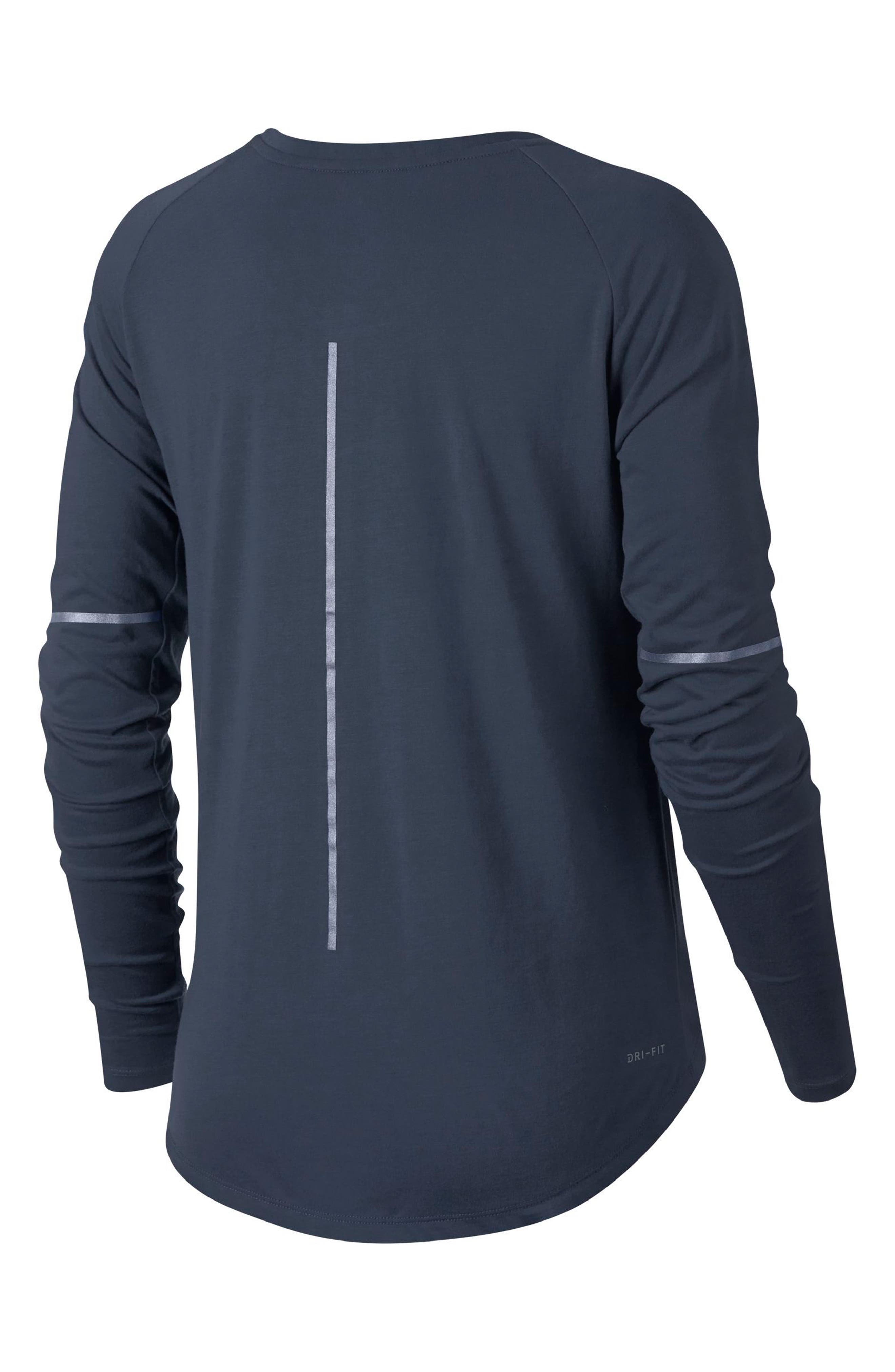 Alternate Image 2  - Nike Breathe Women's Running Top