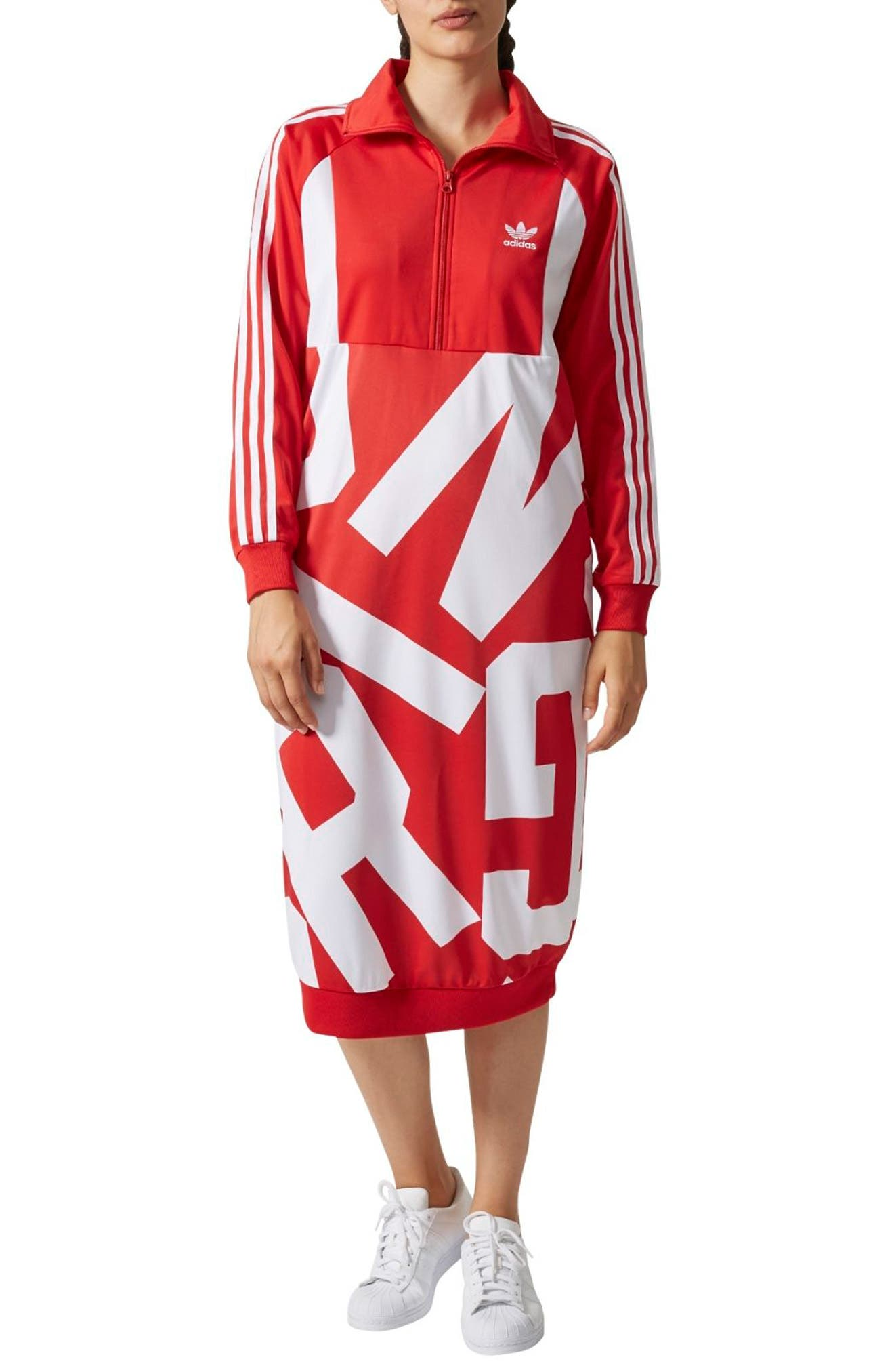adidas Bold Age Graphic Track Dress