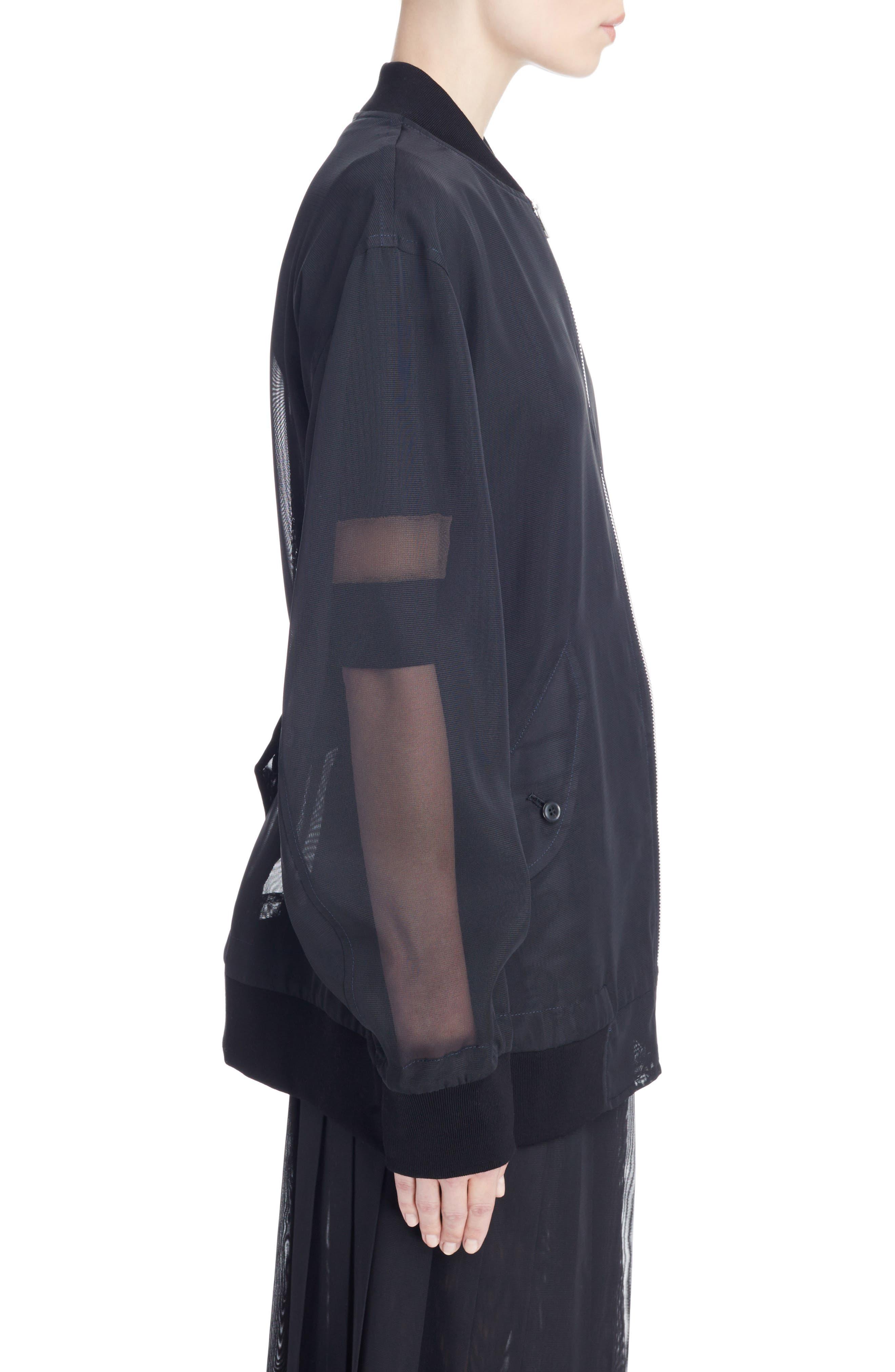 Alternate Image 3  - Toga Mesh Bomber Jacket
