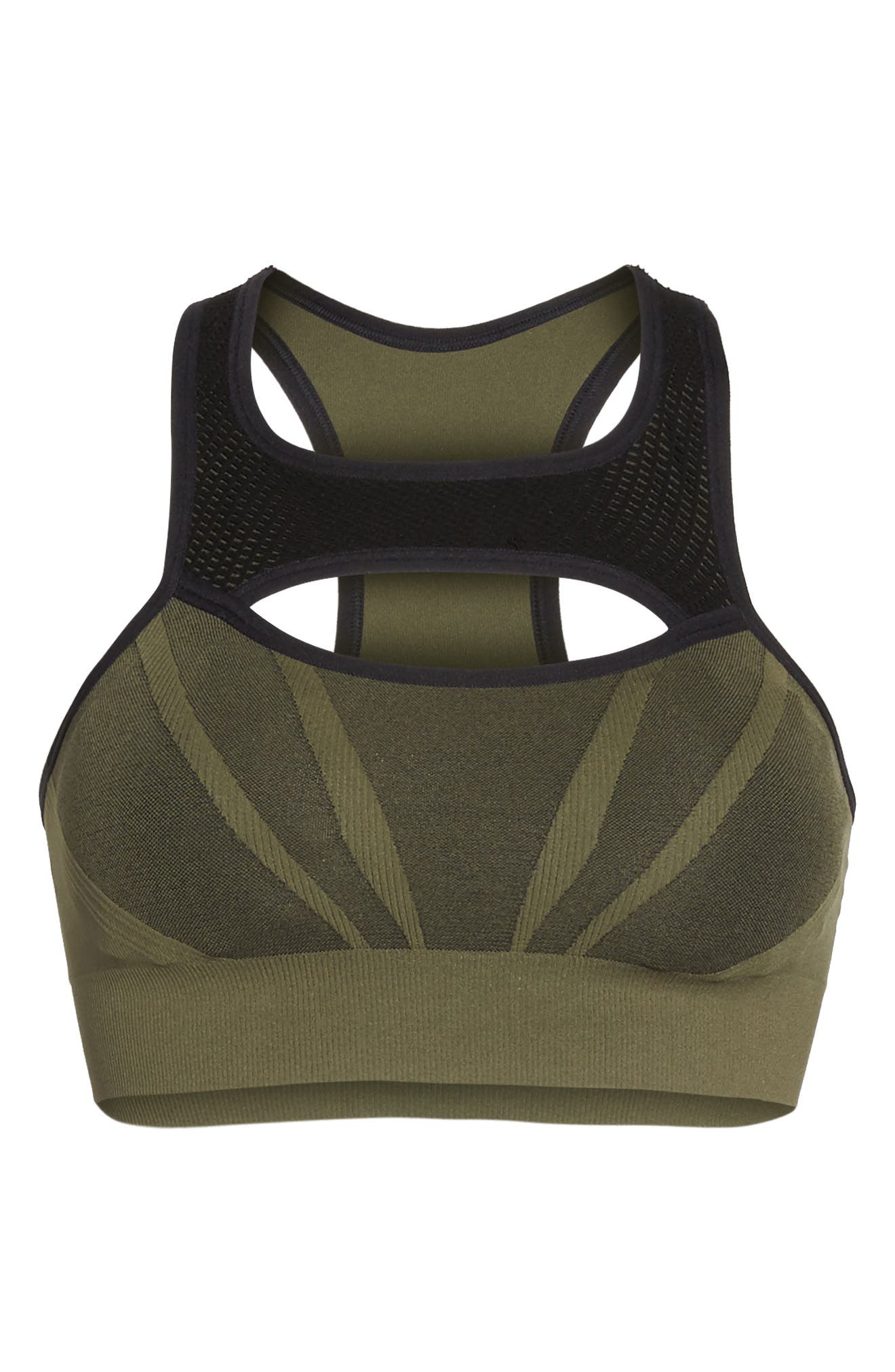 Charge Sports Bra,                             Alternate thumbnail 7, color,                             Olive Night
