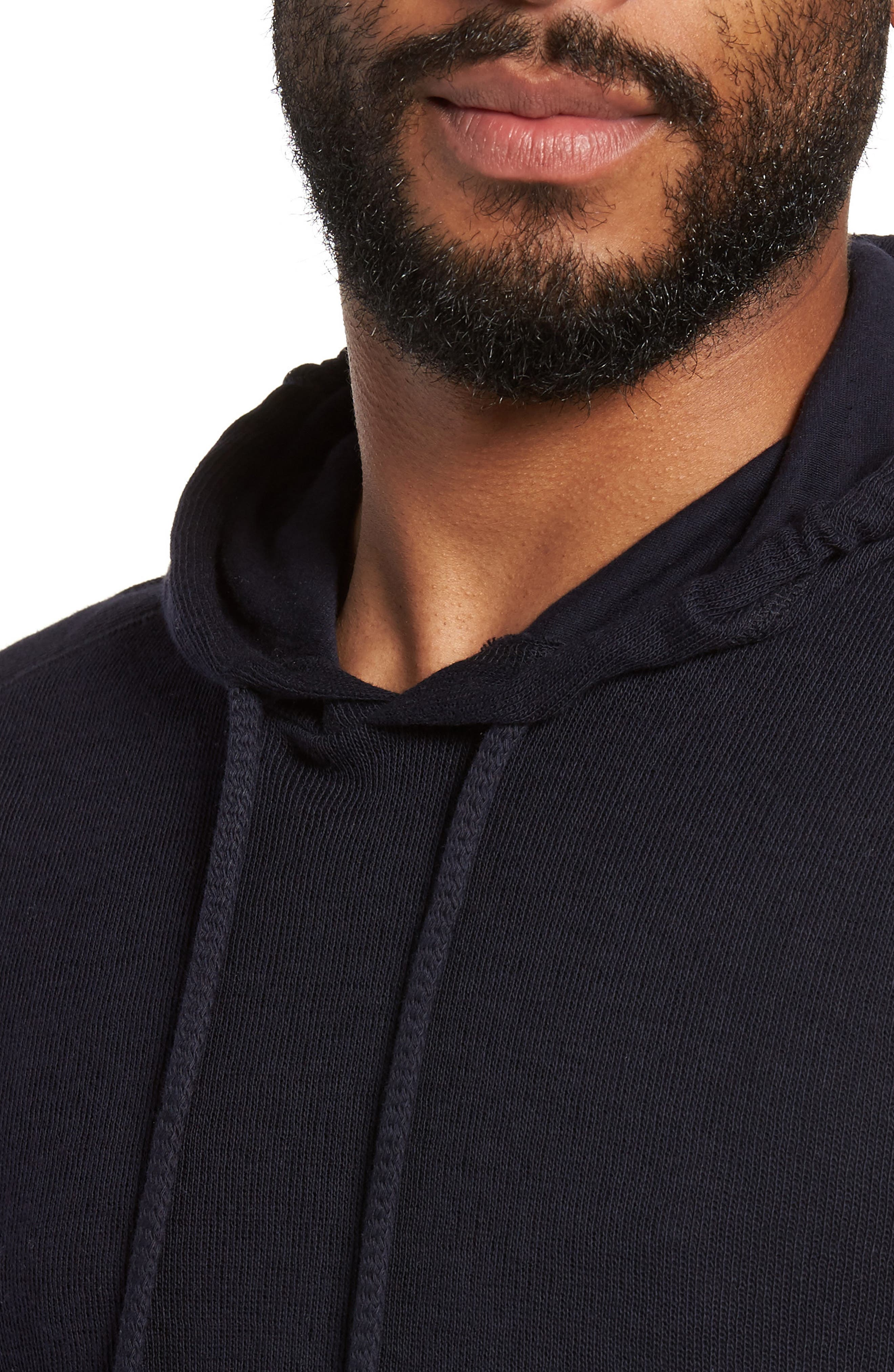 Alternate Image 4  - Vince Double Knit Hoodie