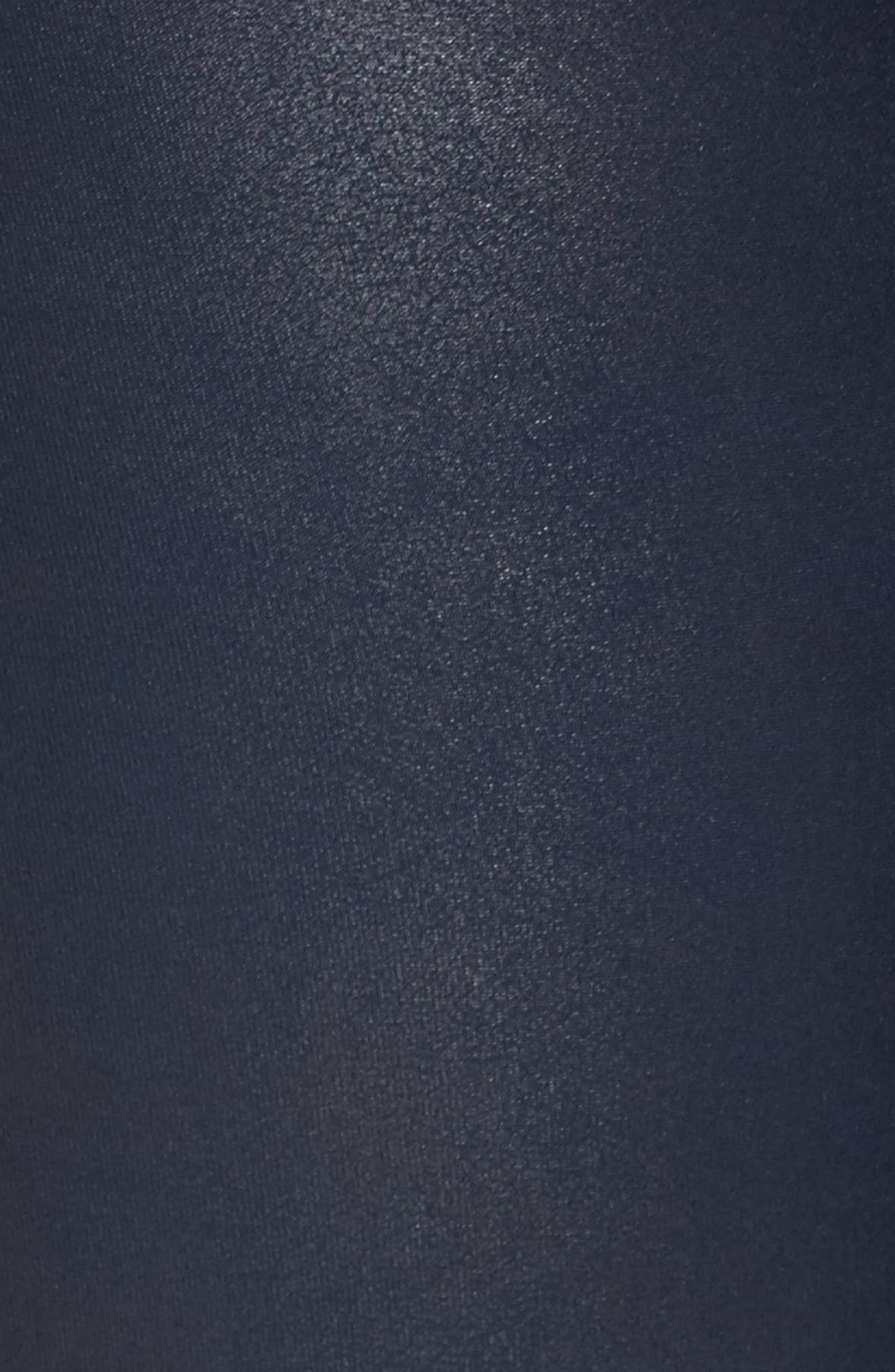 Alternate Image 6  - SPANX® Faux Leather Leggings (Plus Size)