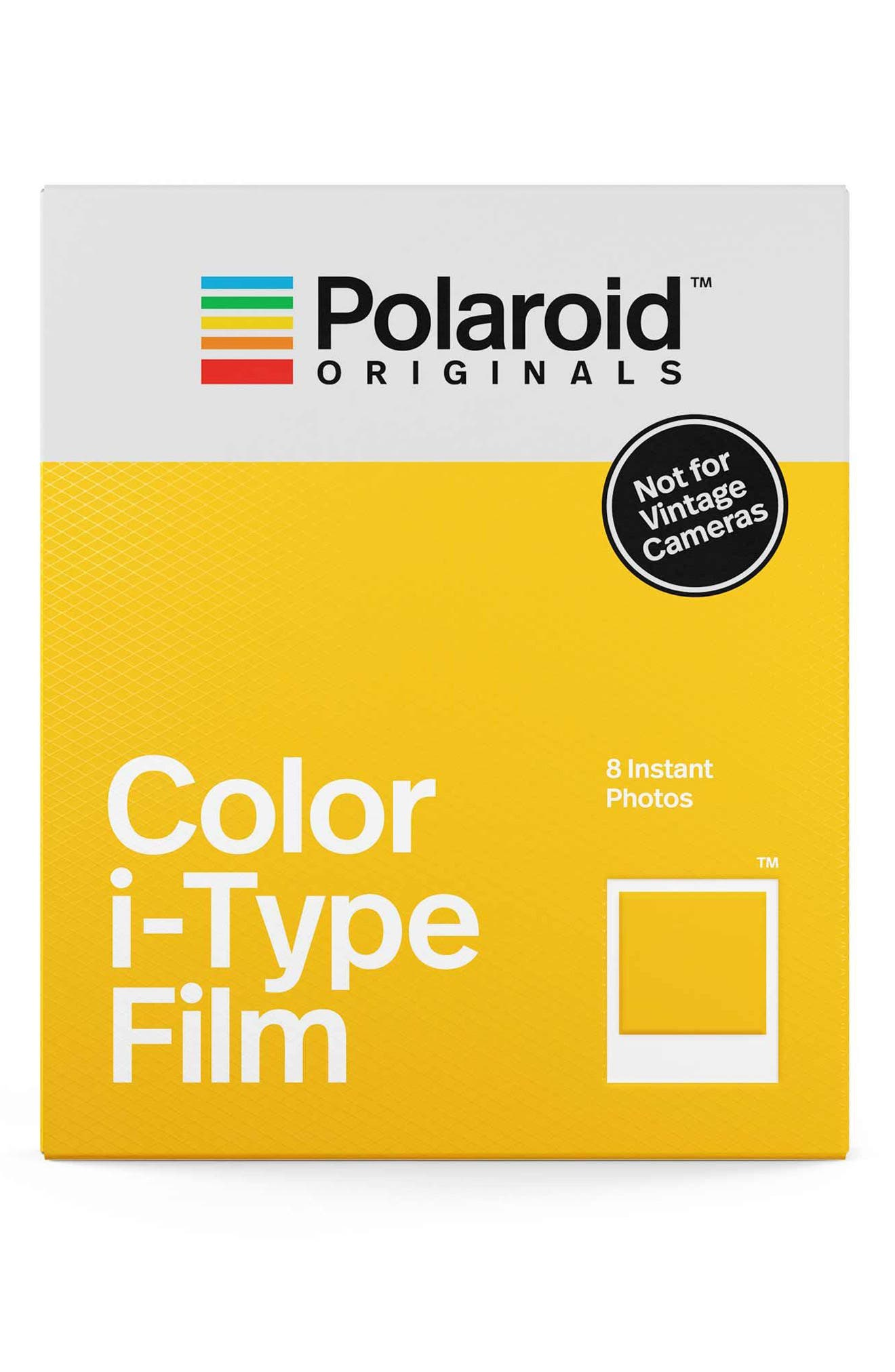 Polaroid i-Type Color Instant Film (8 Exposures)