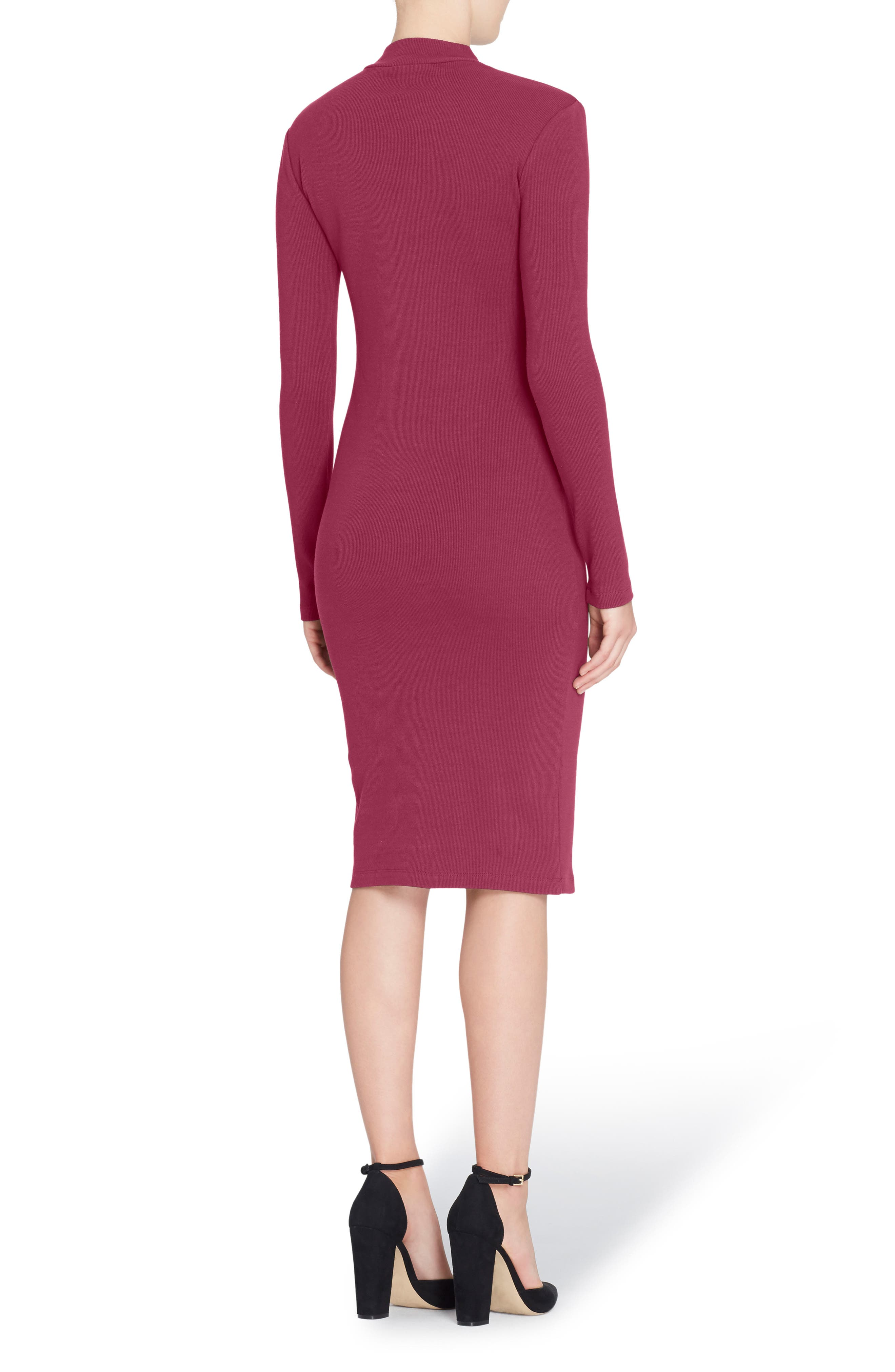 Alternate Image 2  - Catherine Catherine Malandrino 'Kristiana' Knit Midi Dress
