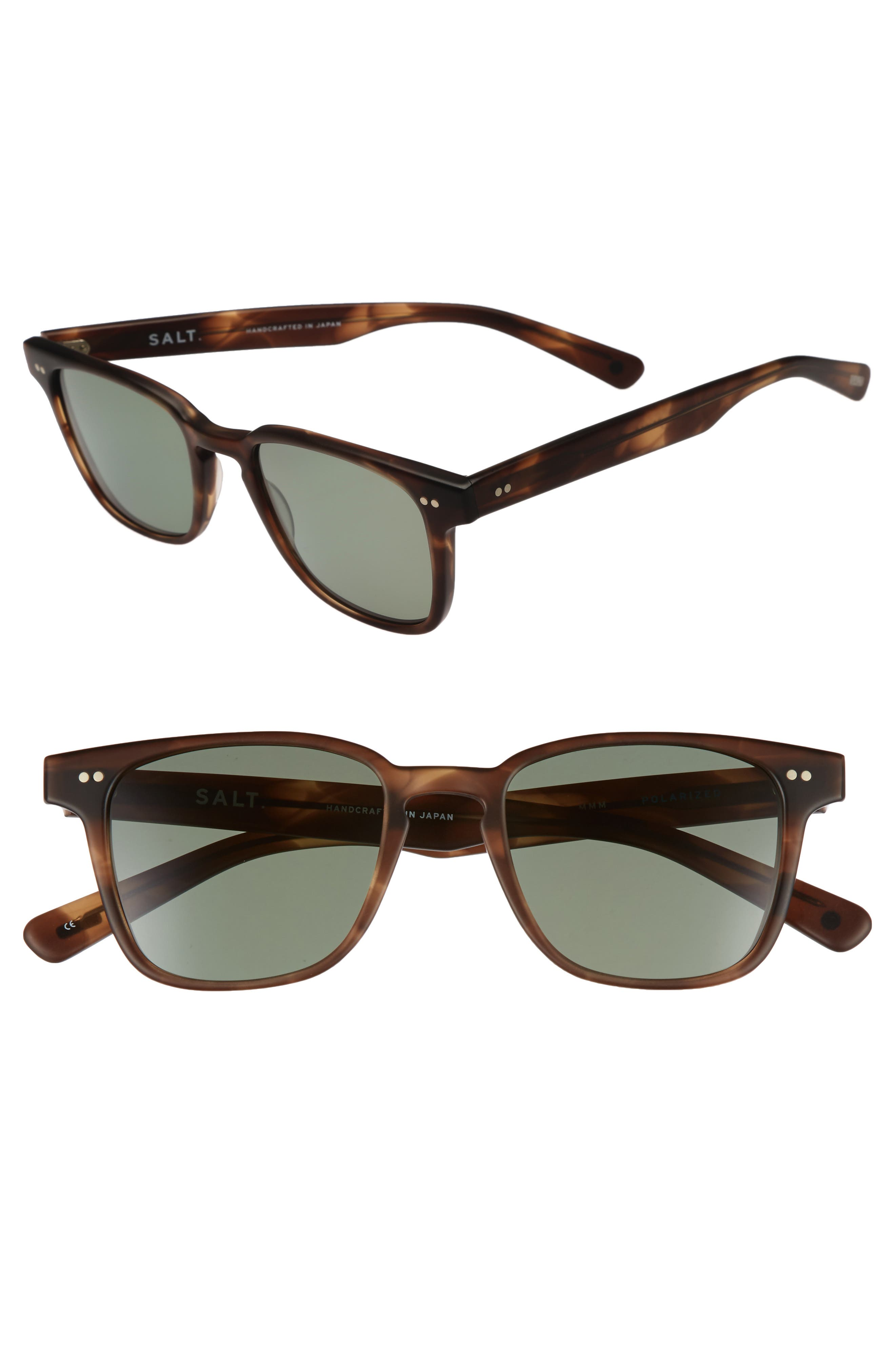 Reiner 51mm Polarized Sunglasses,                         Main,                         color, Matte Mauve Mist