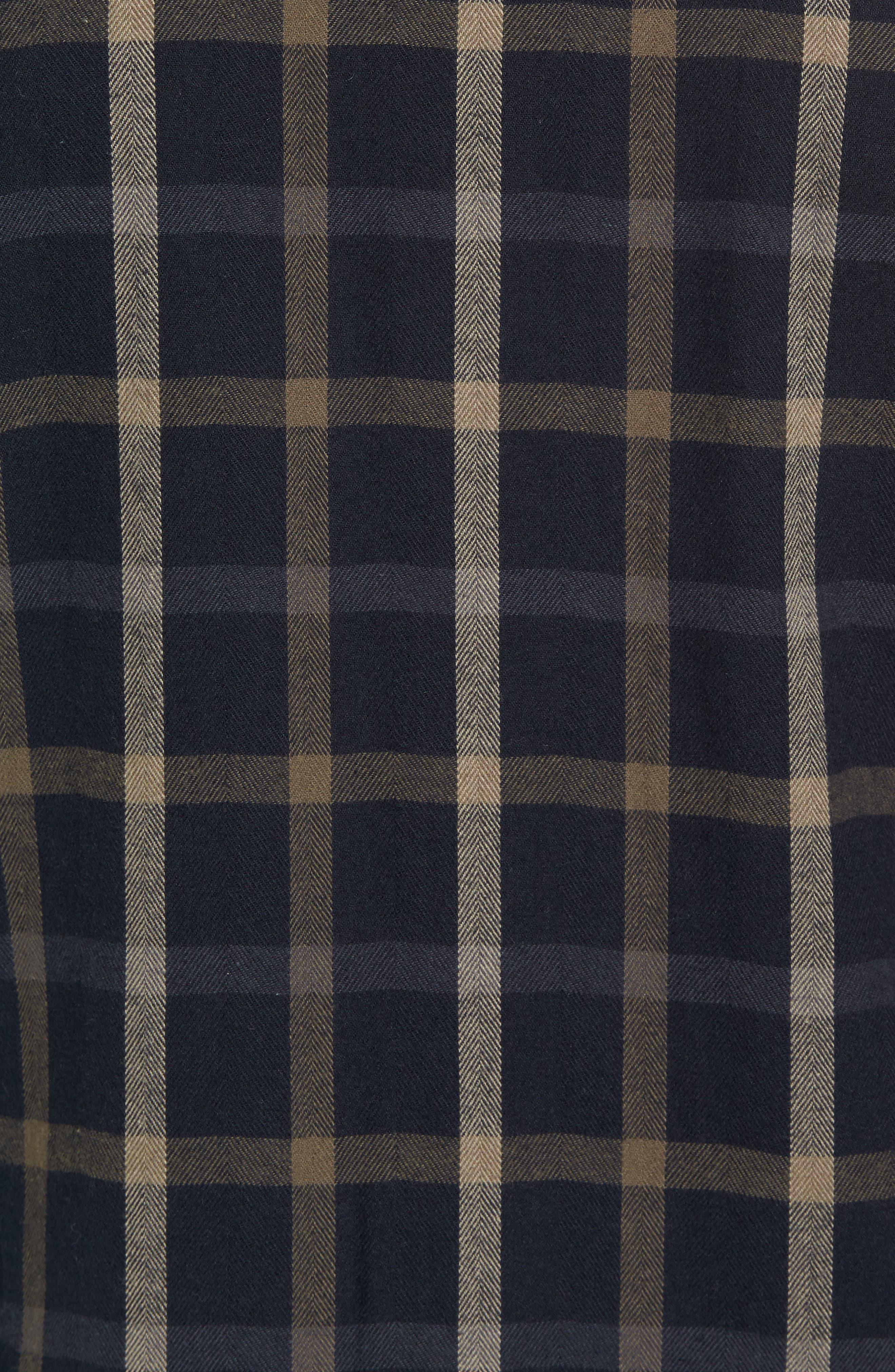 Alternate Image 5  - Cova El Moro Regular Fit Plaid Flannel Shirt