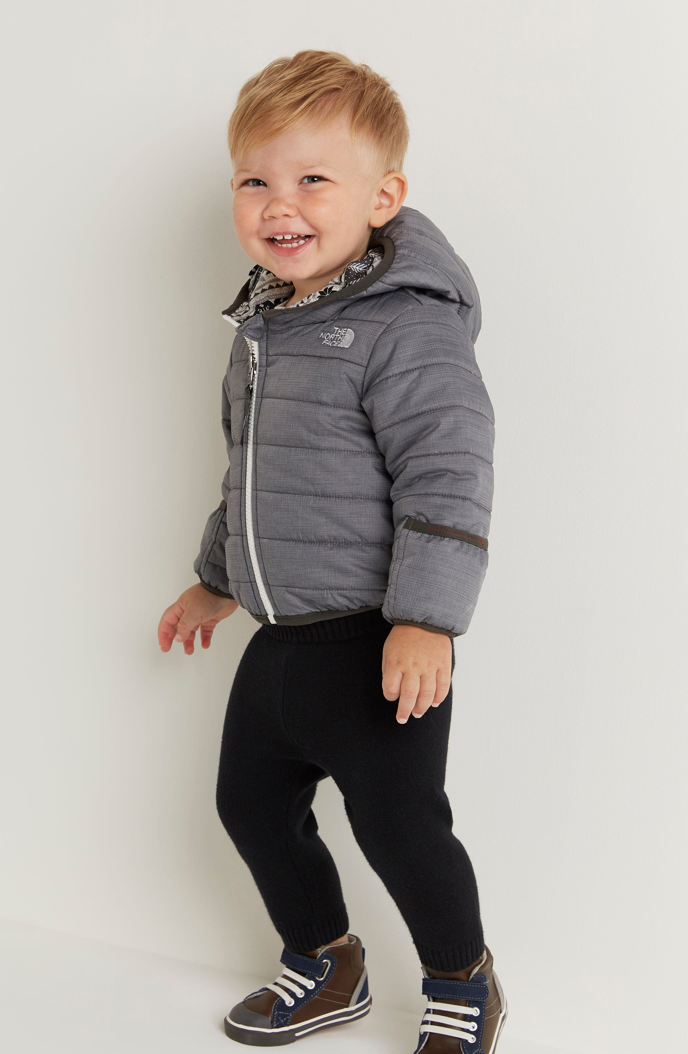 Alternate Image 2  - The North Face 'Perrito' Reversible Water Repellent Hooded Jacket (Baby Boys)