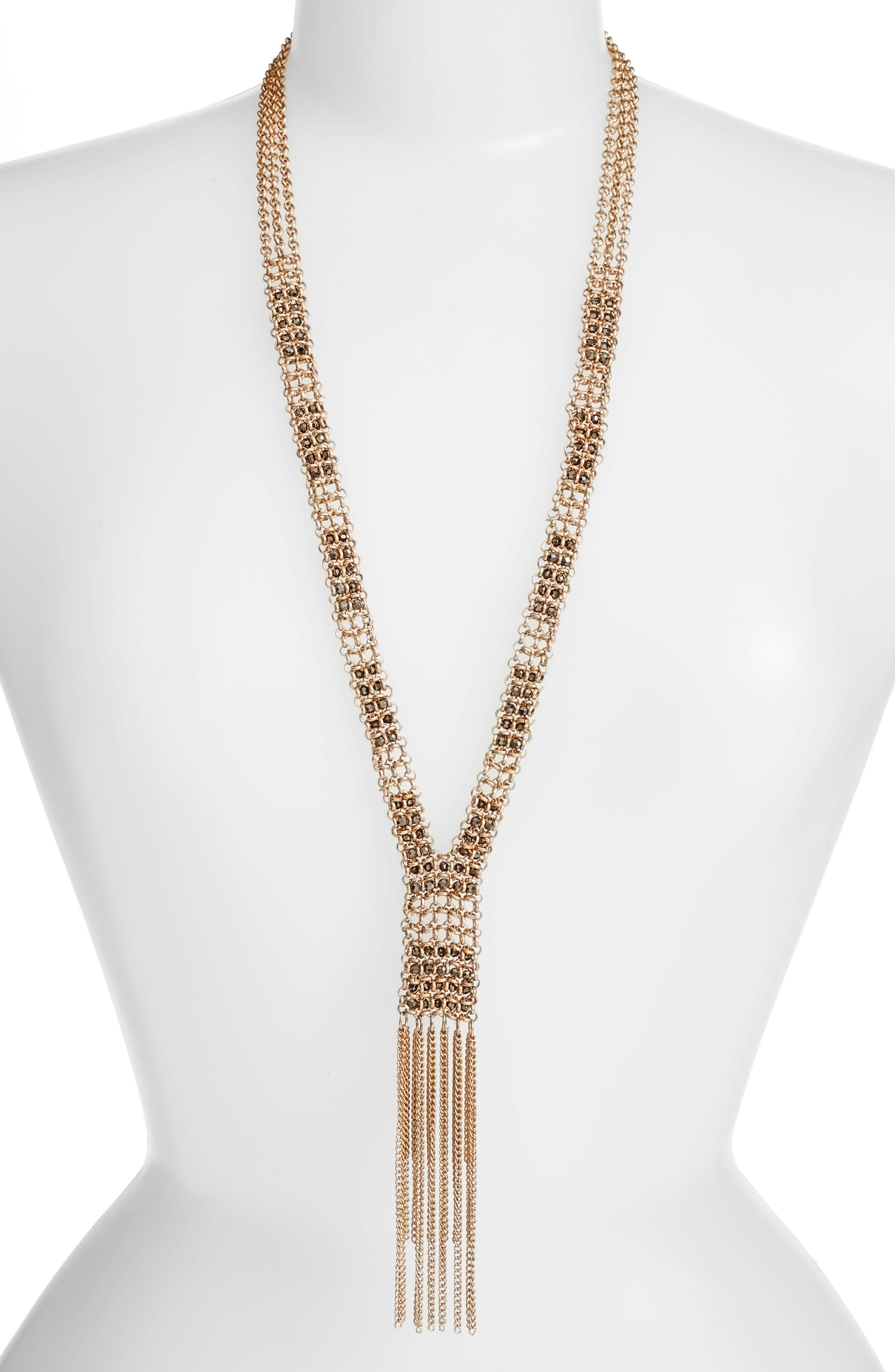 Treasure & Bond Long Y-Necklace