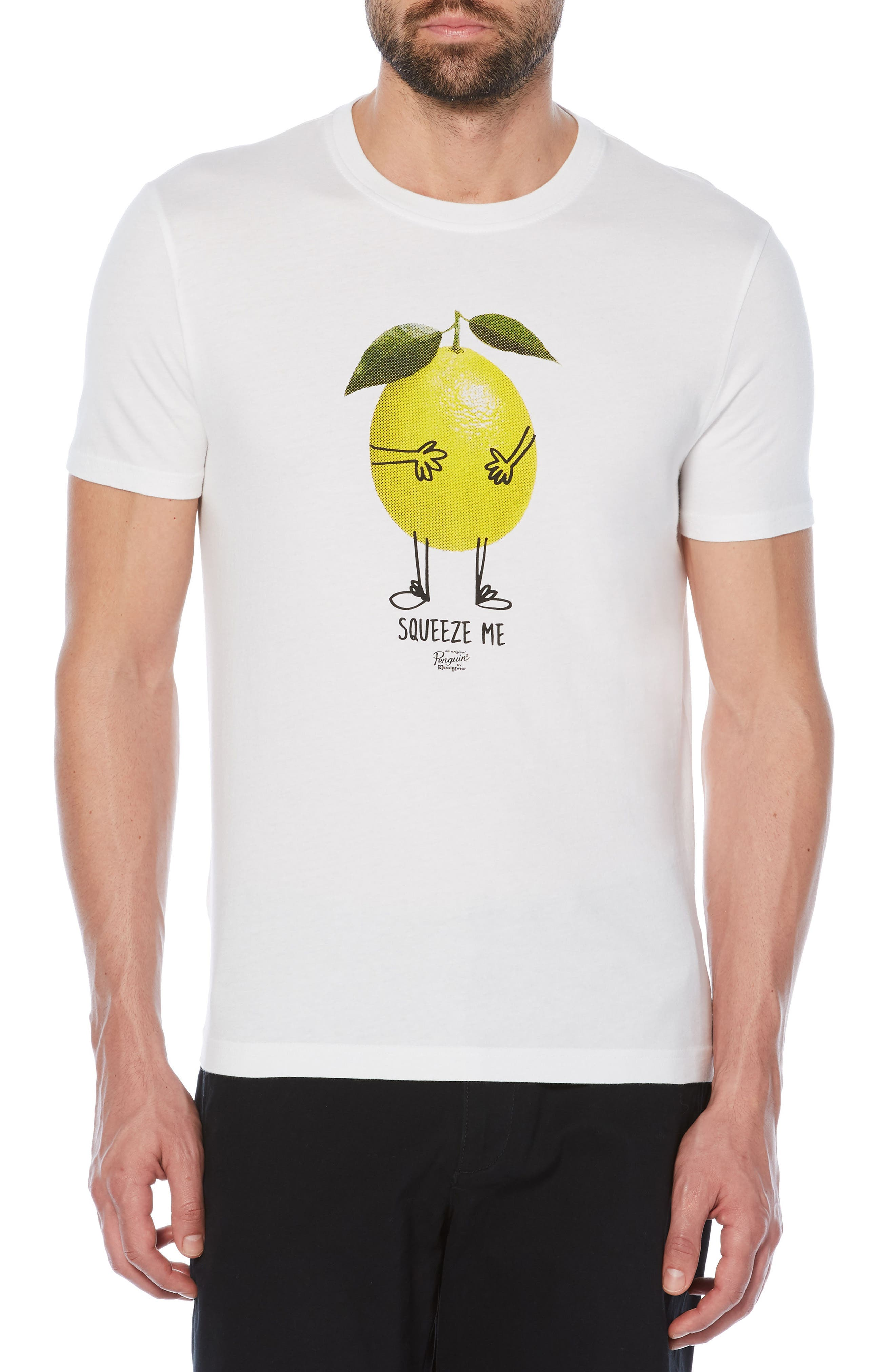 Squeeze Me T-Shirt,                         Main,                         color, Bright White