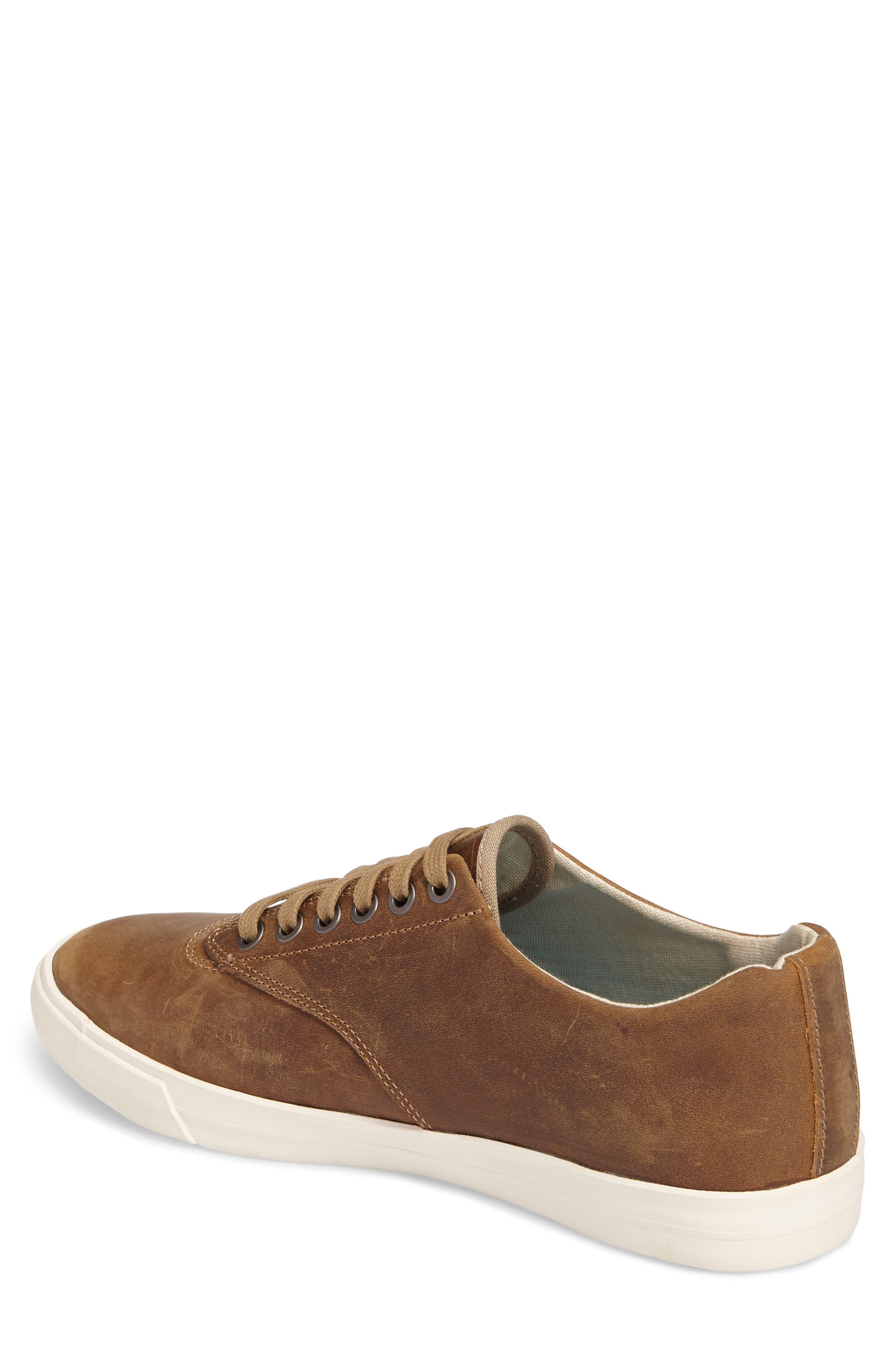 Hermosa Plimsoll Wintertide Sneaker,                             Alternate thumbnail 2, color,                             Elmwood Leather