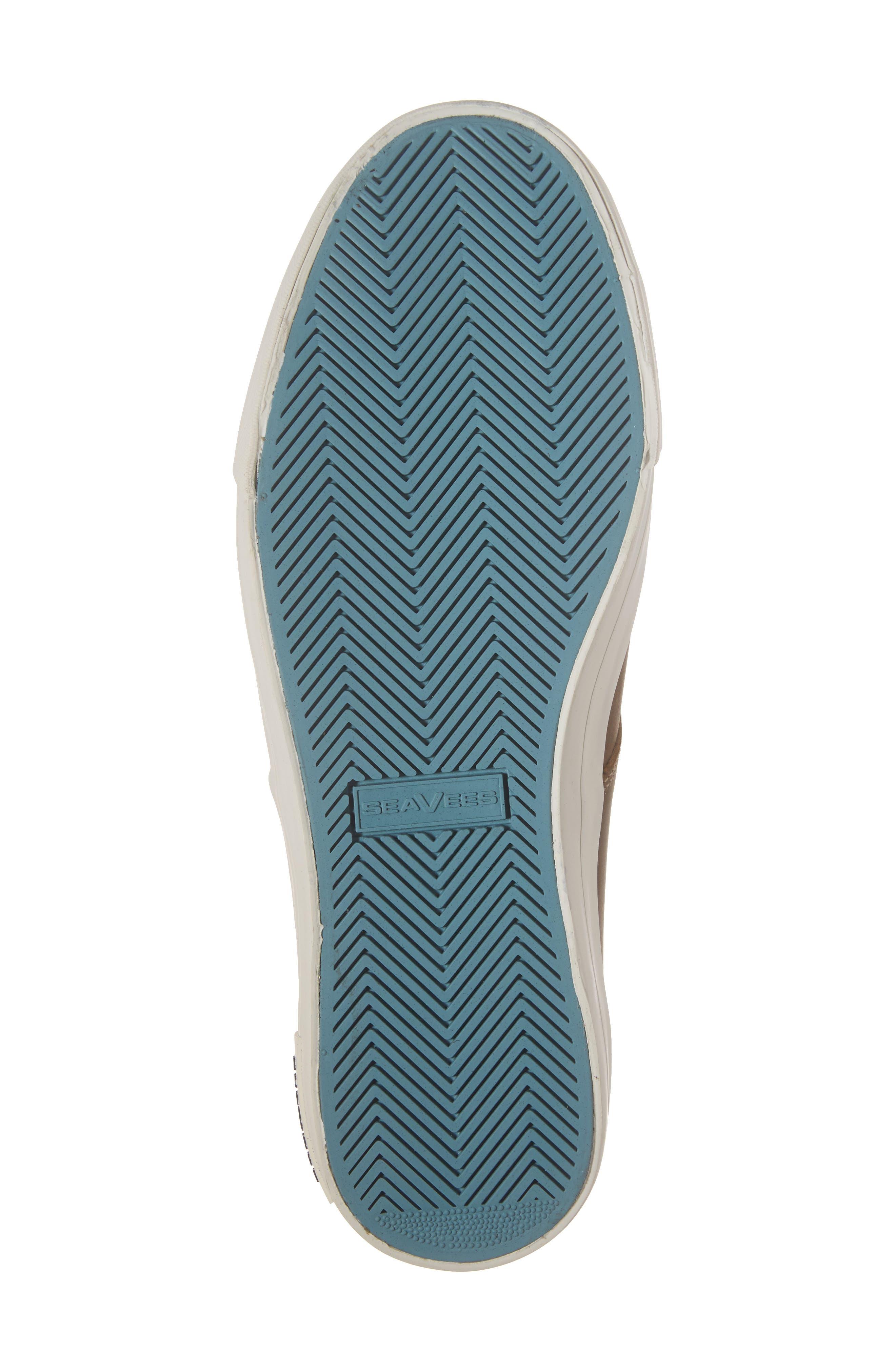 Hermosa Plimsoll Wintertide Sneaker,                             Alternate thumbnail 6, color,                             Elmwood Leather