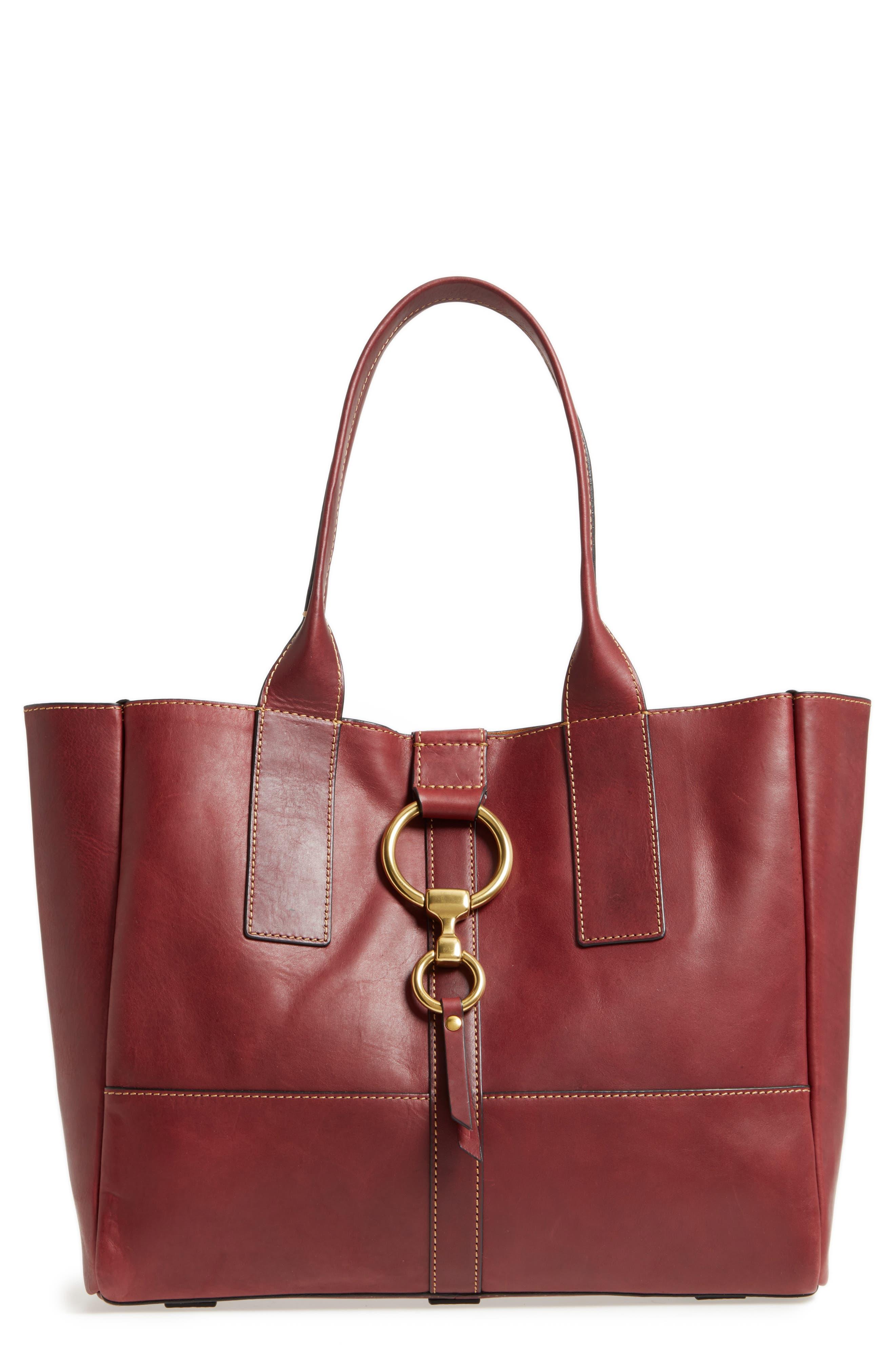 Frye Ilana Harness Leather Shopper