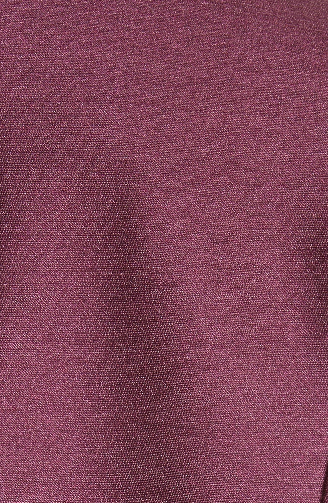 Narika Wool & Silk Jacket,                             Alternate thumbnail 6, color,                             Plum