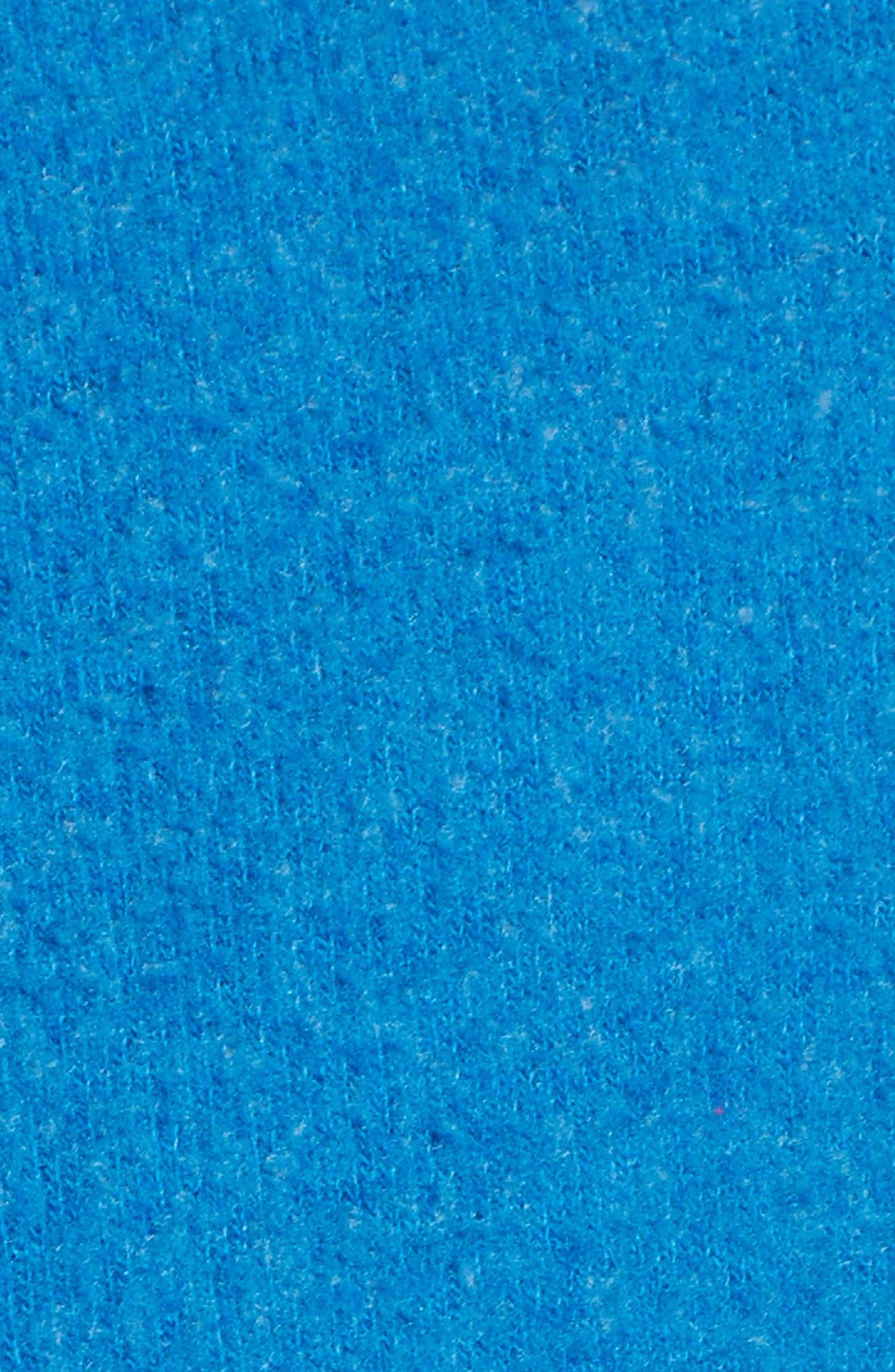 Owl Love You Forever Sweatshirt,                             Alternate thumbnail 5, color,                             Cobalt Sea