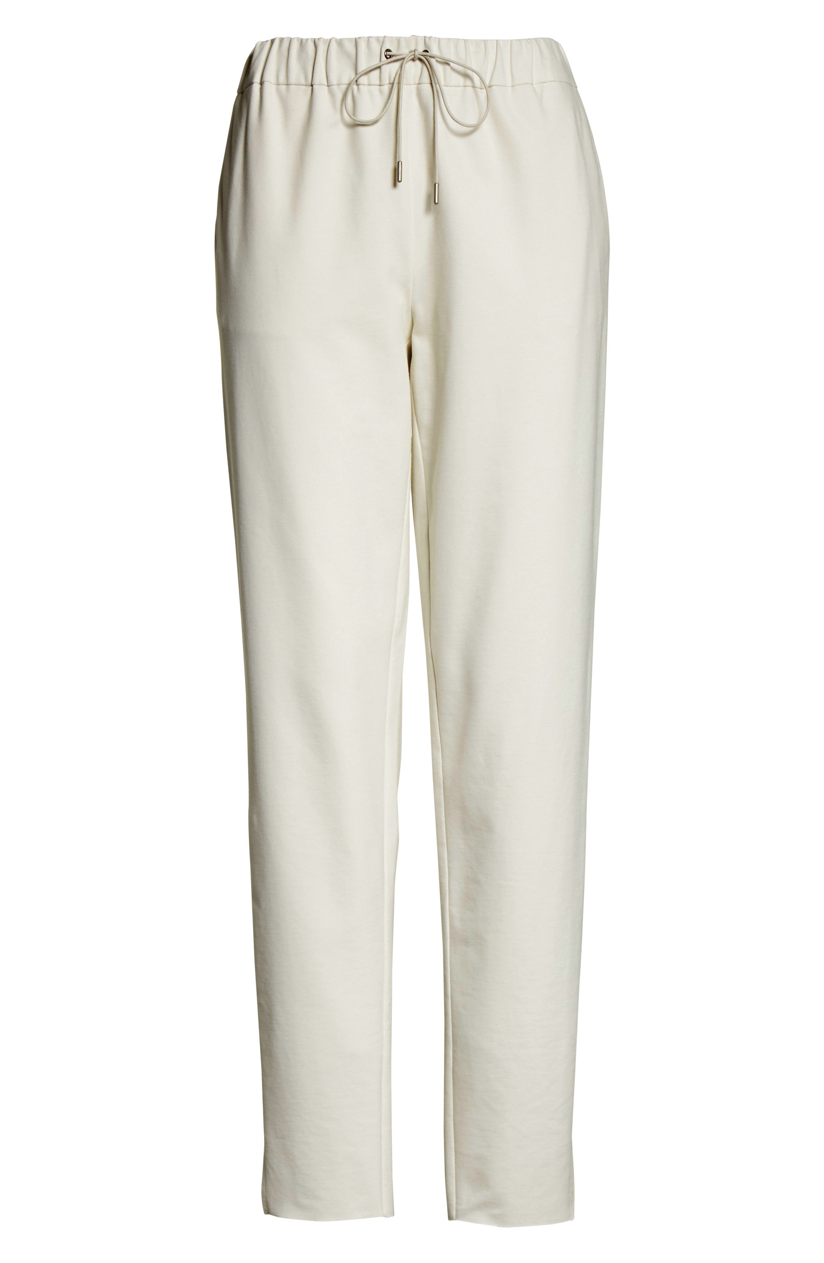 Rodier Jersey Joggers,                             Alternate thumbnail 11, color,                             Ivory
