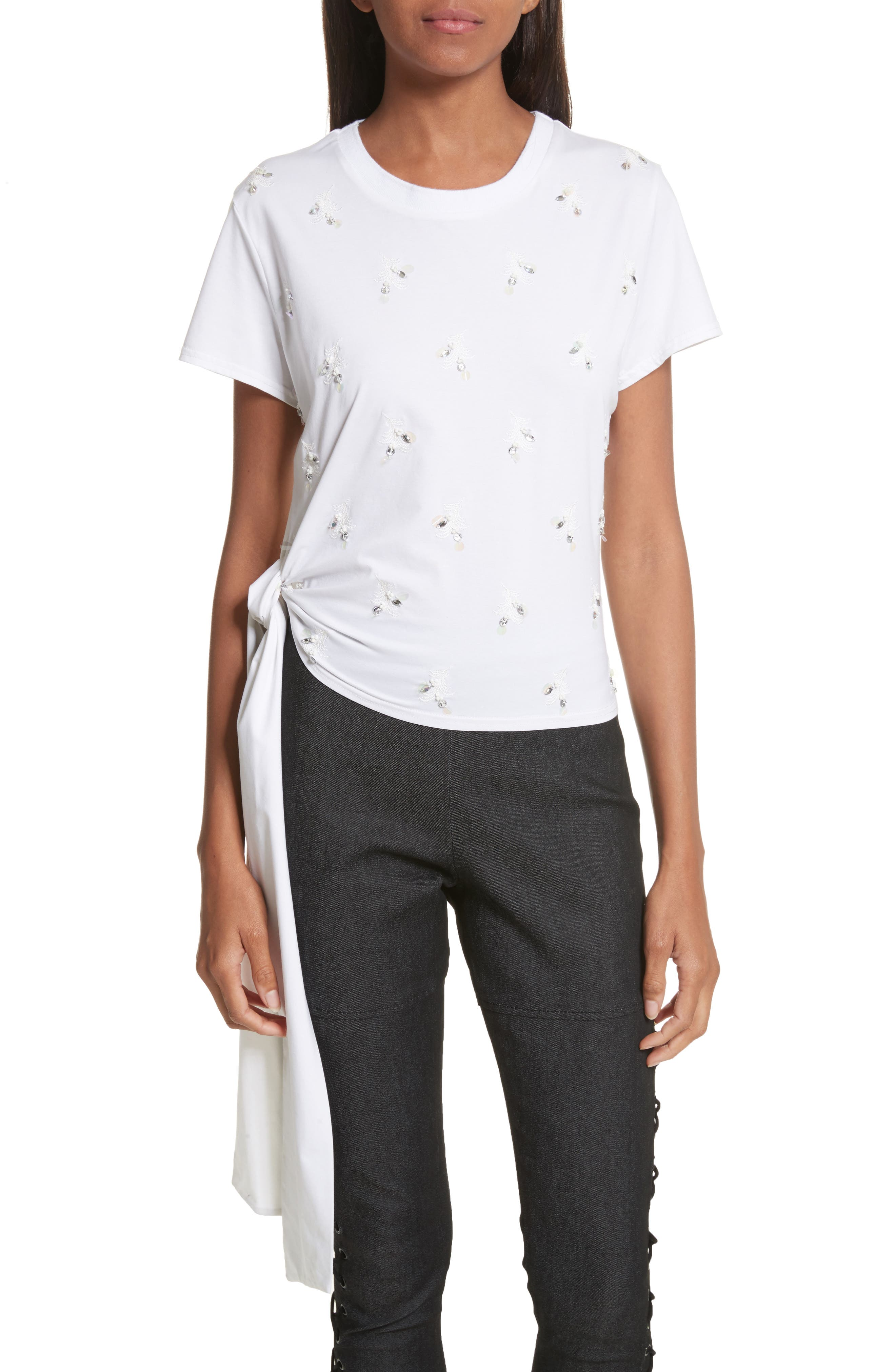 Scout Top,                         Main,                         color, White/ White