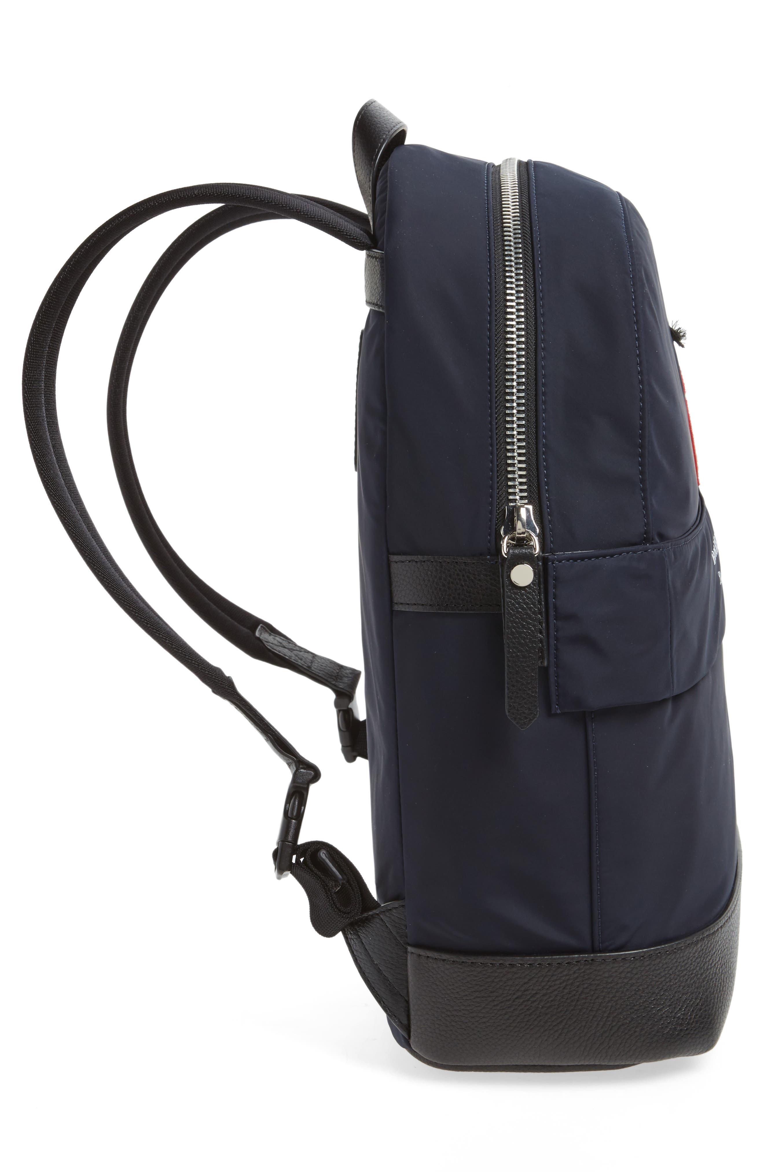 Nico London Backpack,                             Alternate thumbnail 4, color,                             Ink