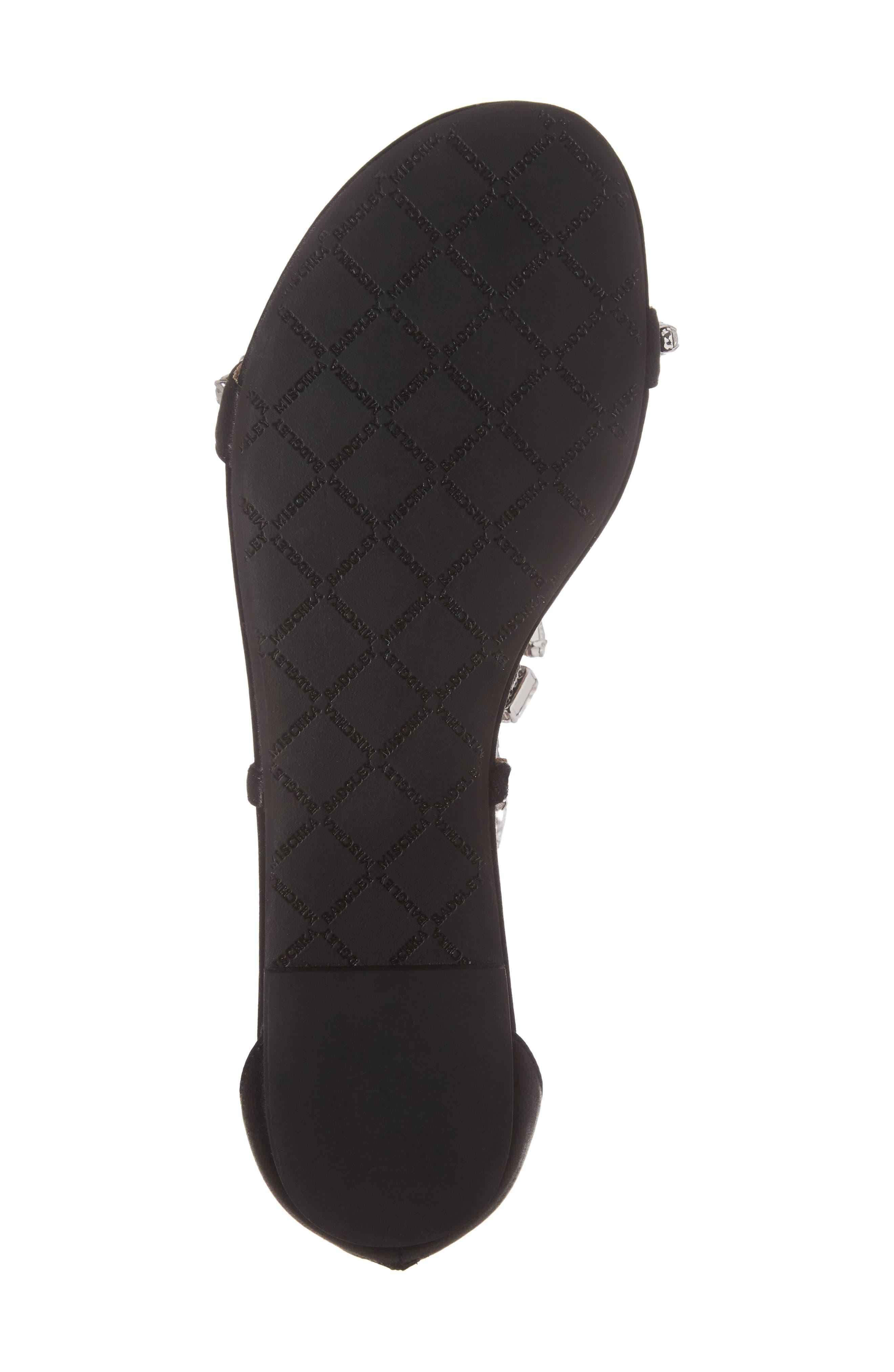 Alternate Image 6  - Badgley Mischka Warren Crystal Embellished Sandal (Women)