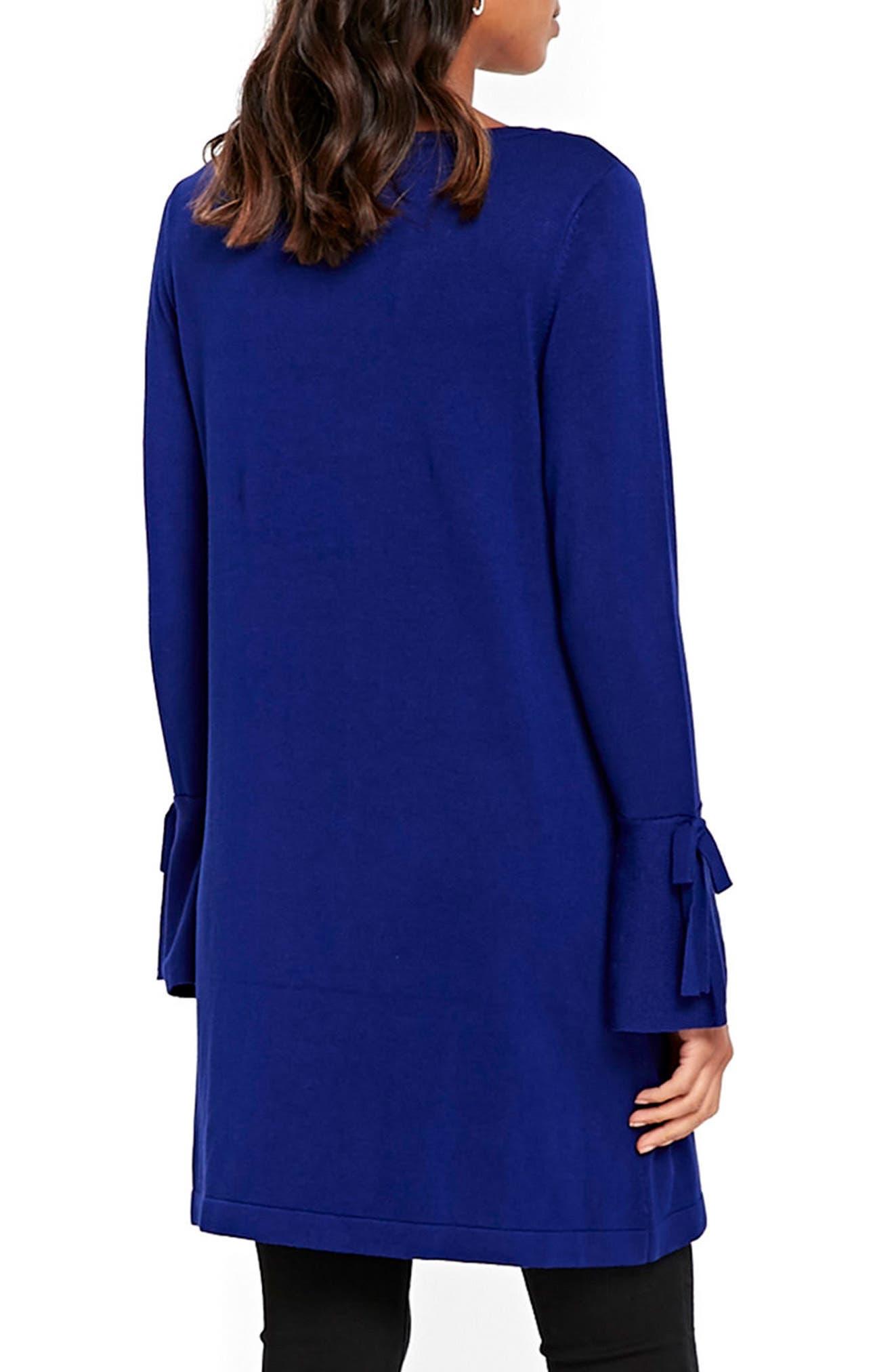 Alternate Image 3  - Wallis Knitted Bow Sleeve Shift Dress