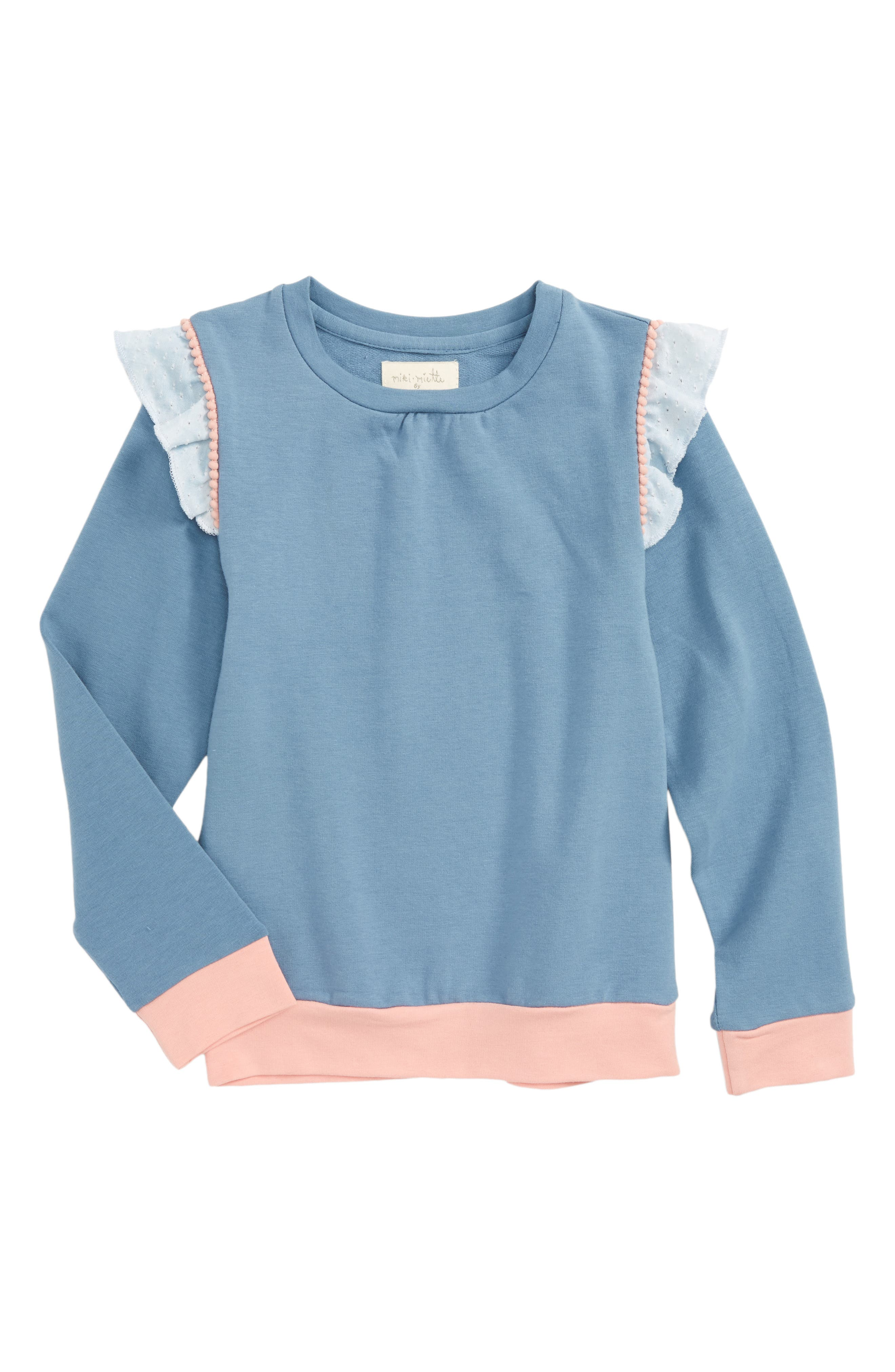 Alternate Image 1 Selected - Miki Miette Cora Top (Toddler Girls & Little Girls)