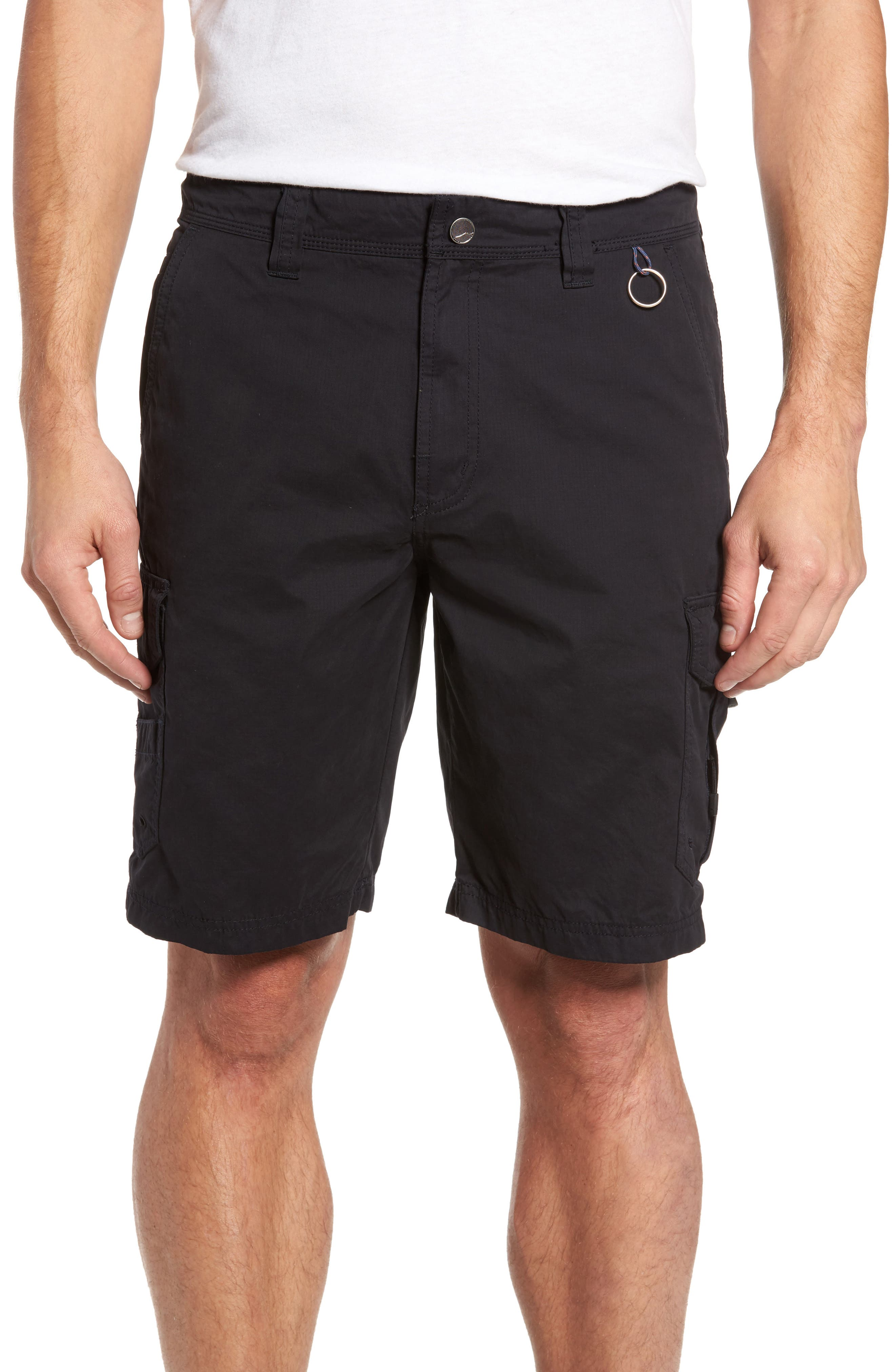 Catch & Release Regular Fit Hybrid Cargo Shorts,                         Main,                         color, Charcoal