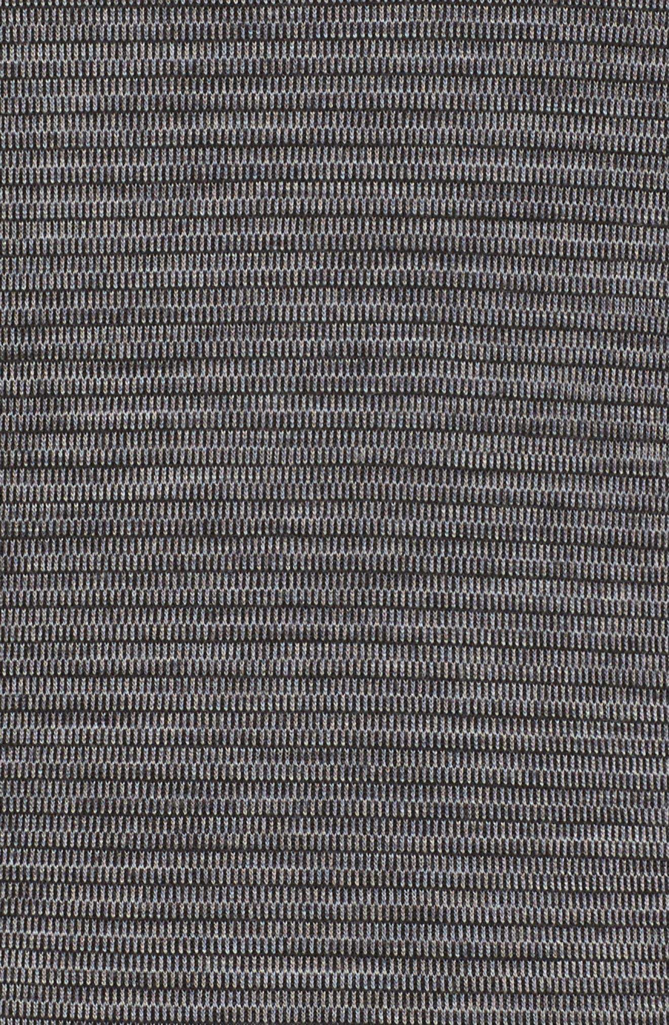Merino 250Wool Base Layer Bottoms,                             Alternate thumbnail 6, color,                             Black/ Light Gray