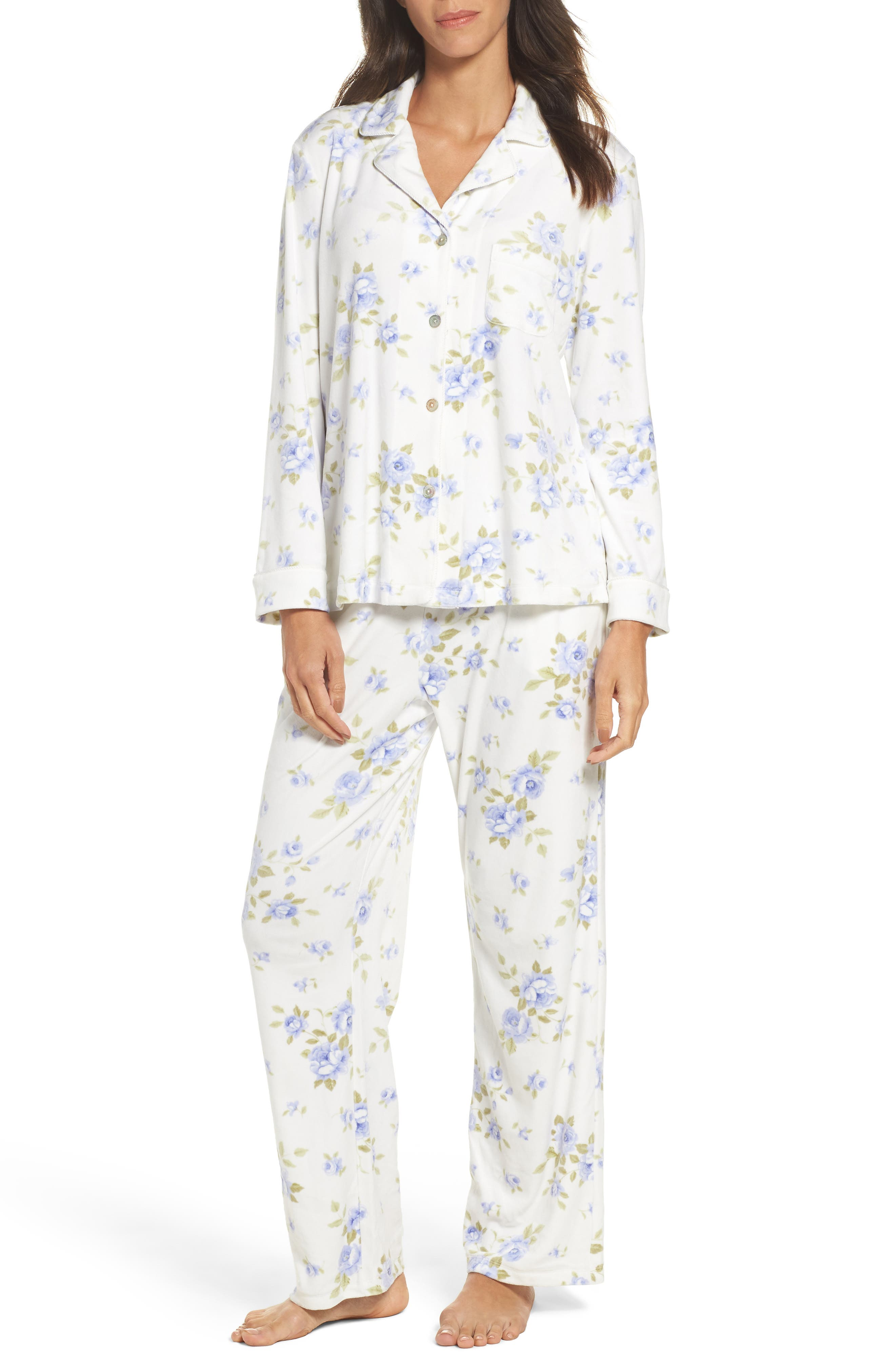 Alternate Image 1 Selected - Carole Hochman Fleece Pajamas