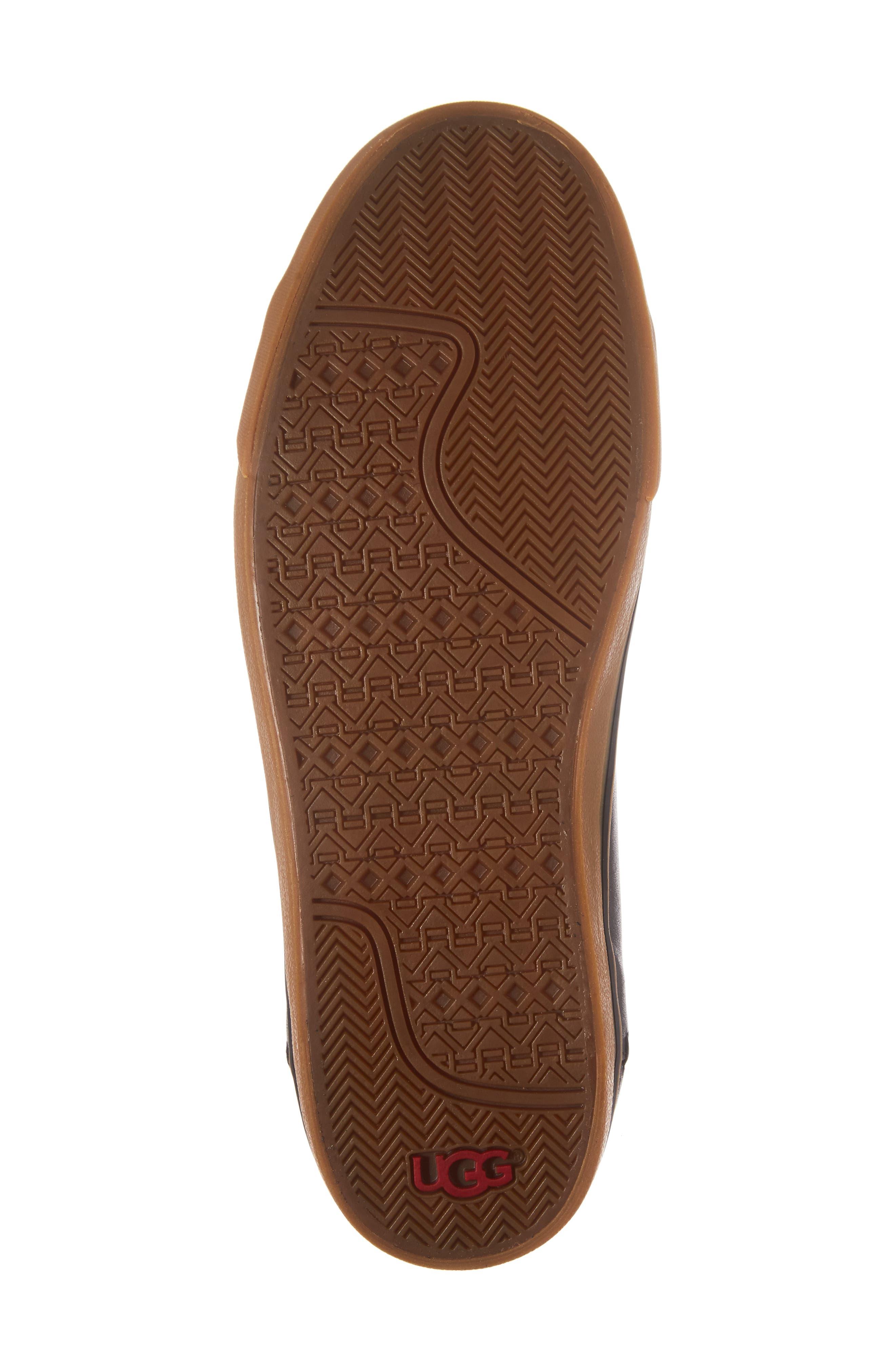 Alternate Image 6  - UGG® Hoyt Luxe Genuine Shearling High Top Sneaker (Men)