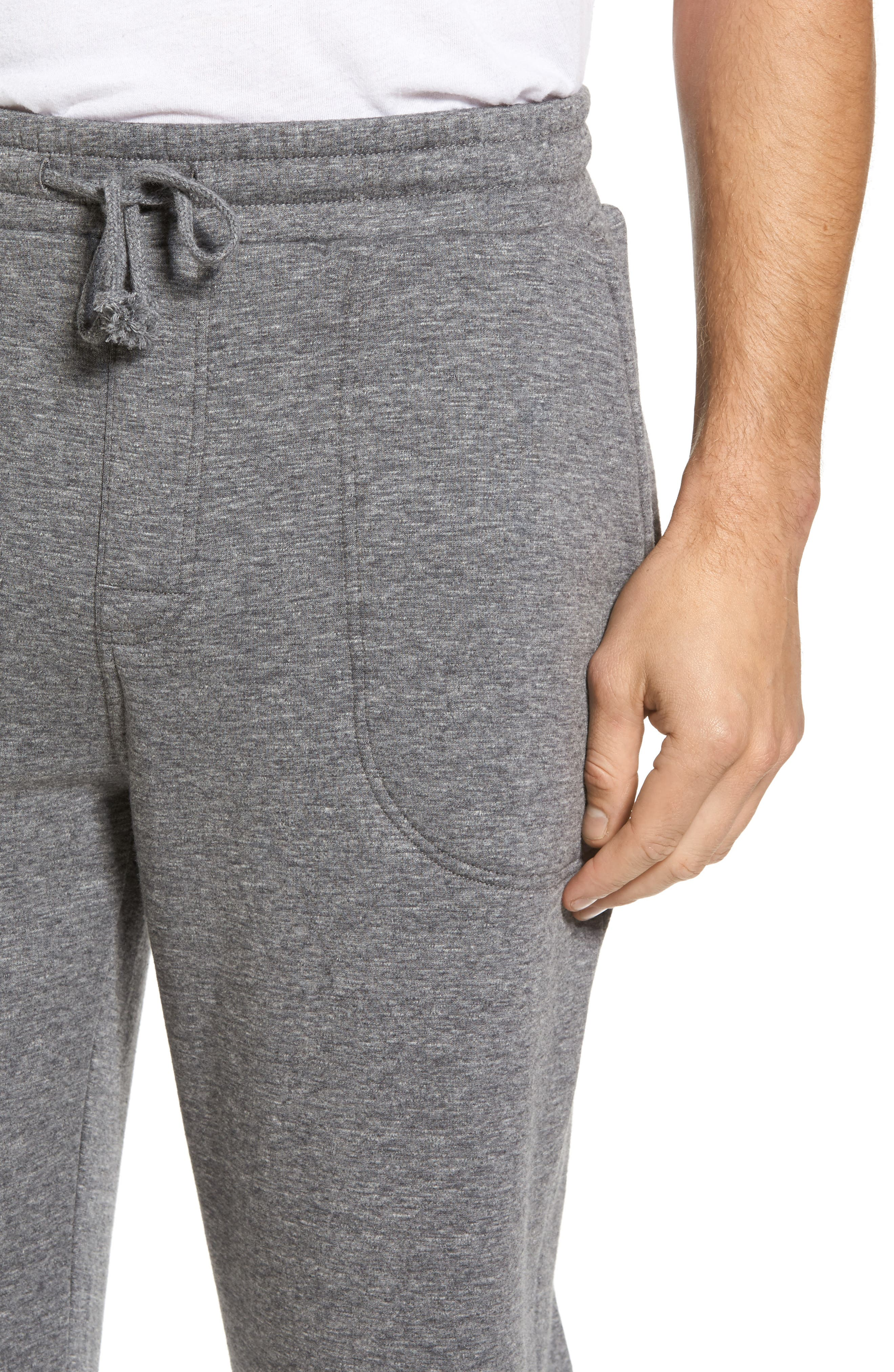 Alternate Image 4  - Nordstrom Men's Shop French Terry Pajama Pants