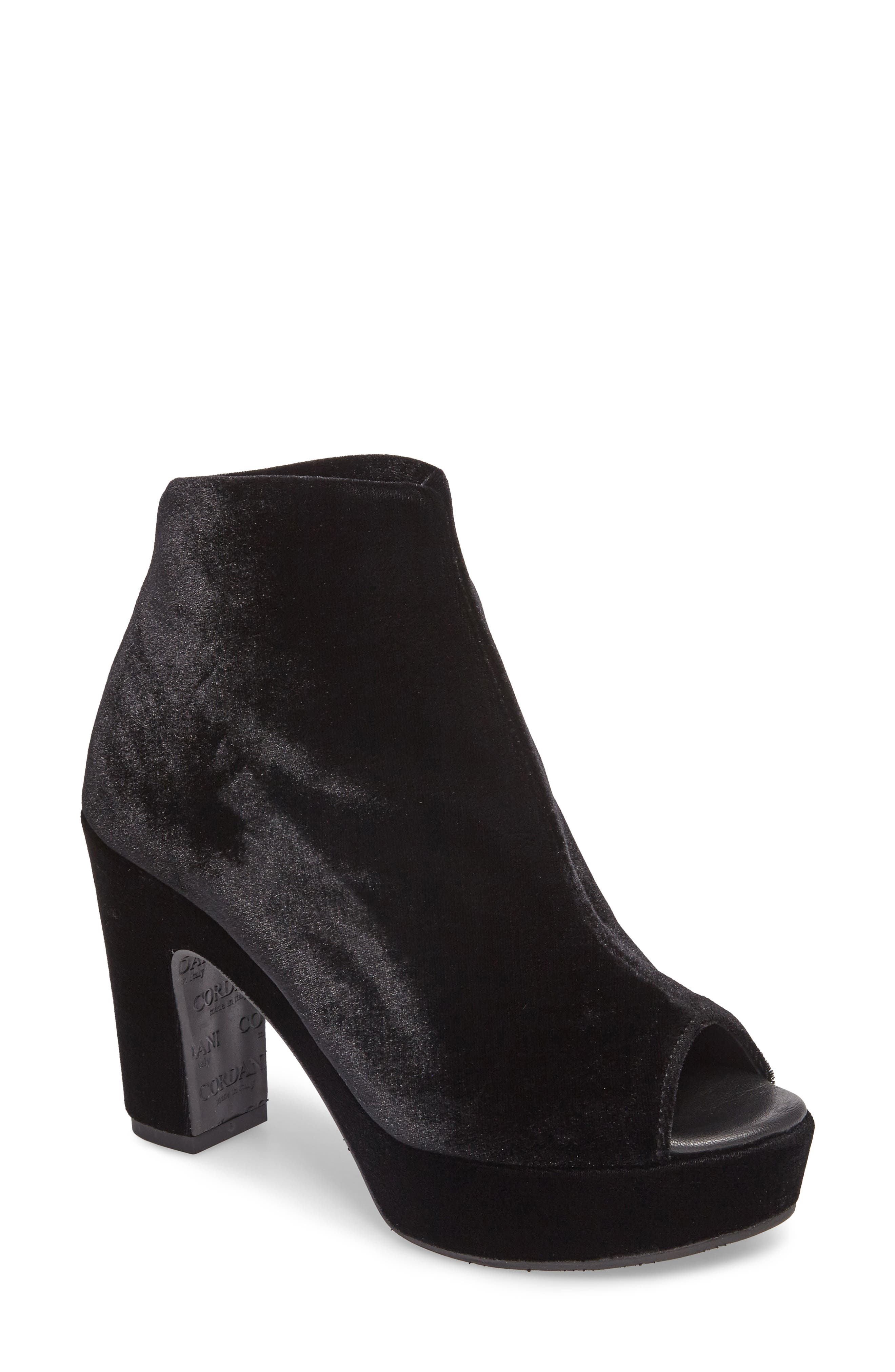 Cordani Tyra Peep Toe Platform Bootie (Women)