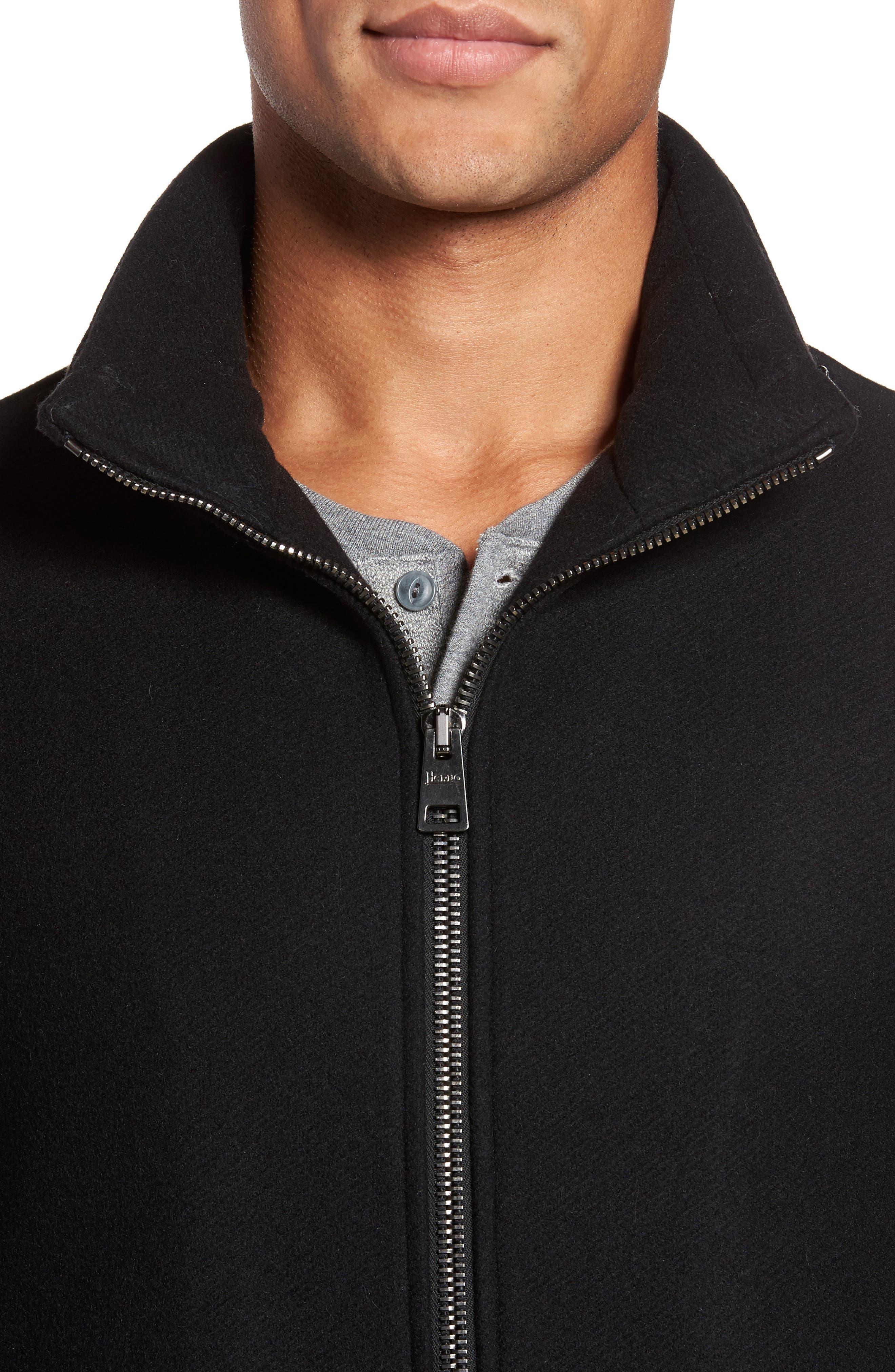 Alternate Image 4  - Herno Wool Blend Hooded Coat