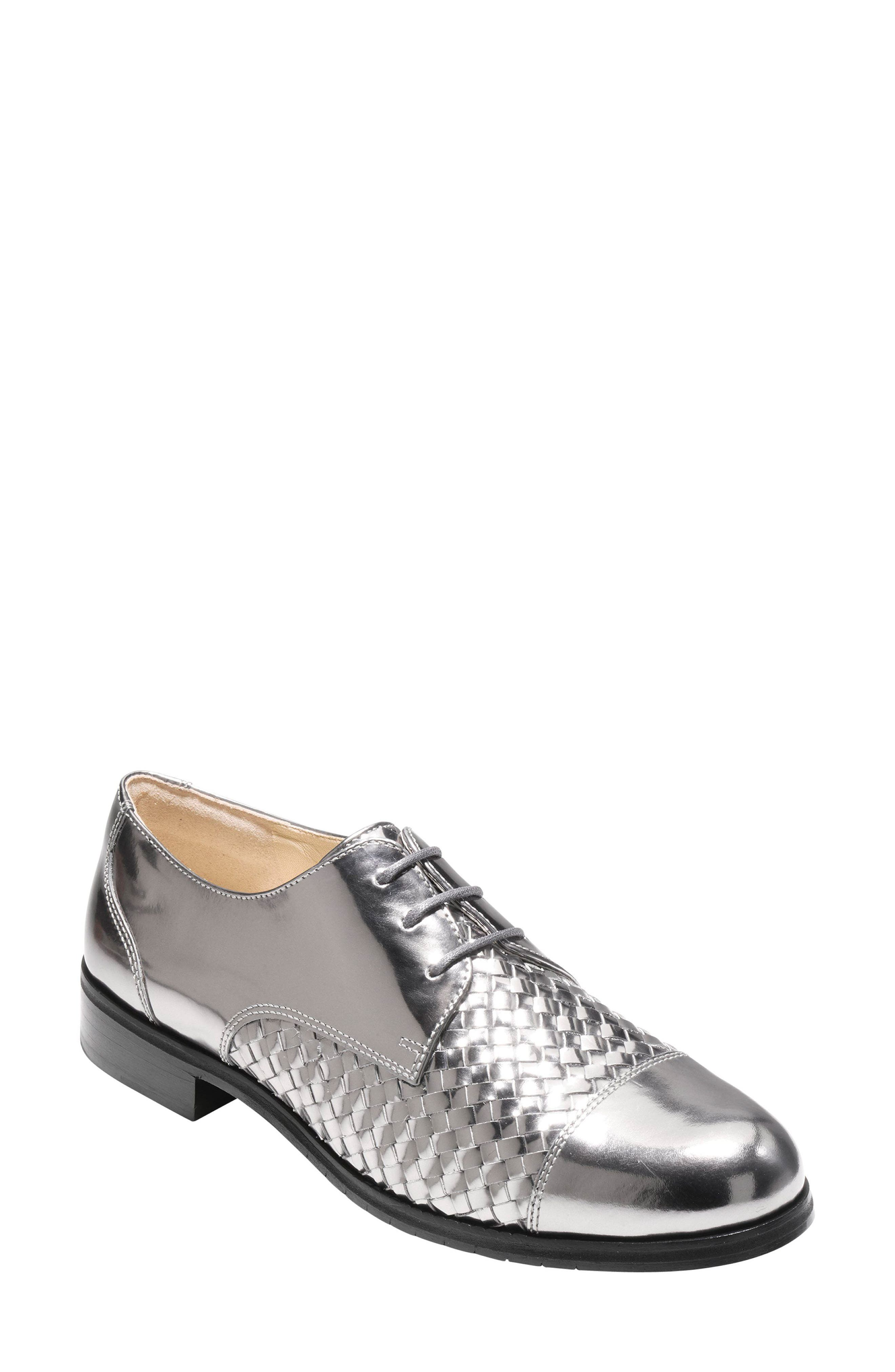 Jagger Oxford,                             Main thumbnail 1, color,                             Pewter Leather