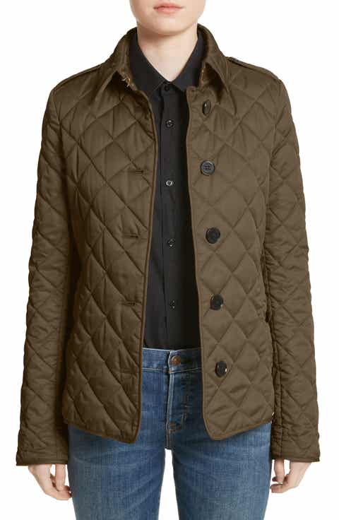 Burberry Women's Outerwear: Coats & Jackets | Nordstrom : nordstrom burberry quilted jacket - Adamdwight.com