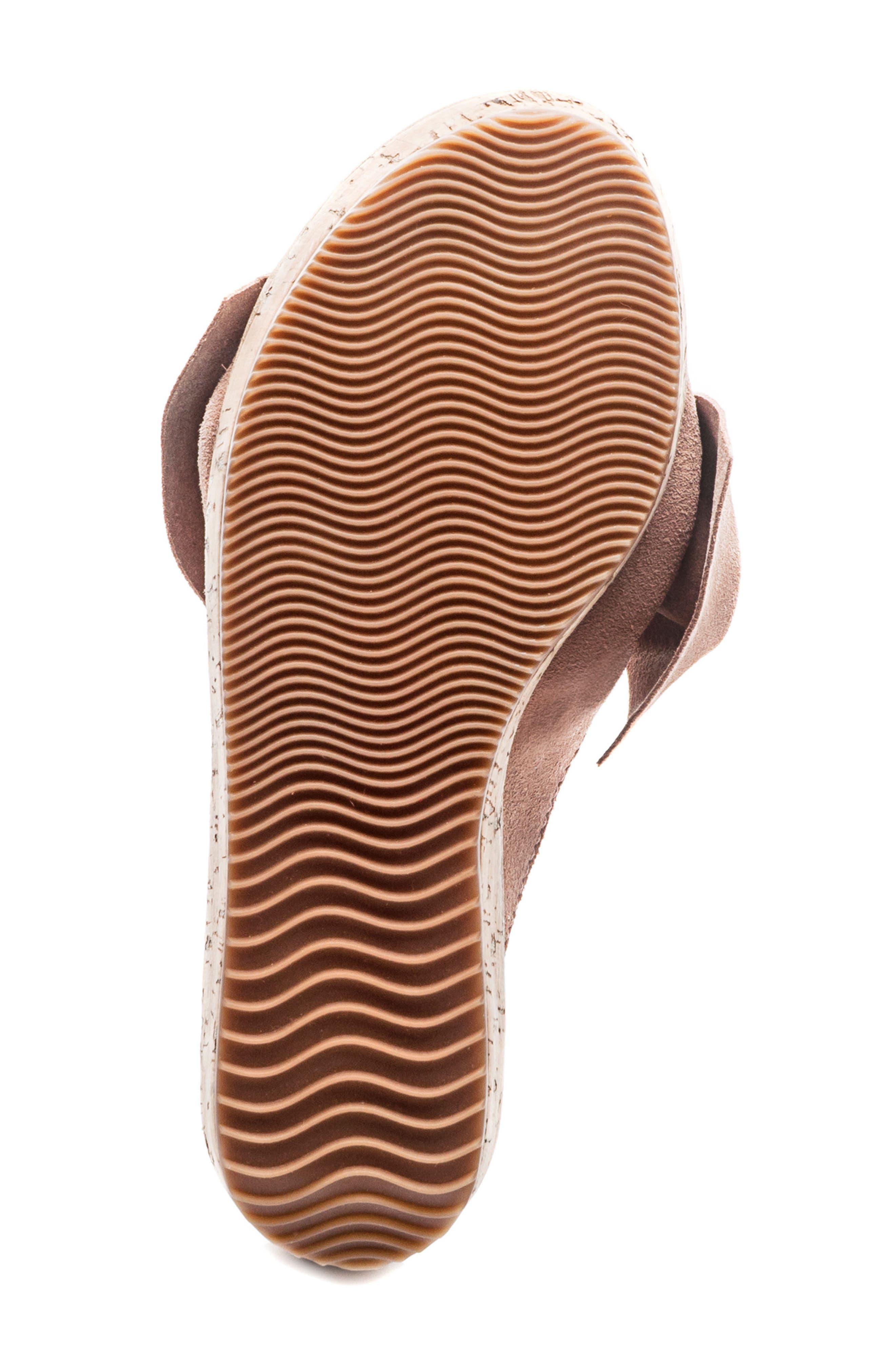 Bernardo Petra Slide Sandal,                             Alternate thumbnail 6, color,                             Blush Leather