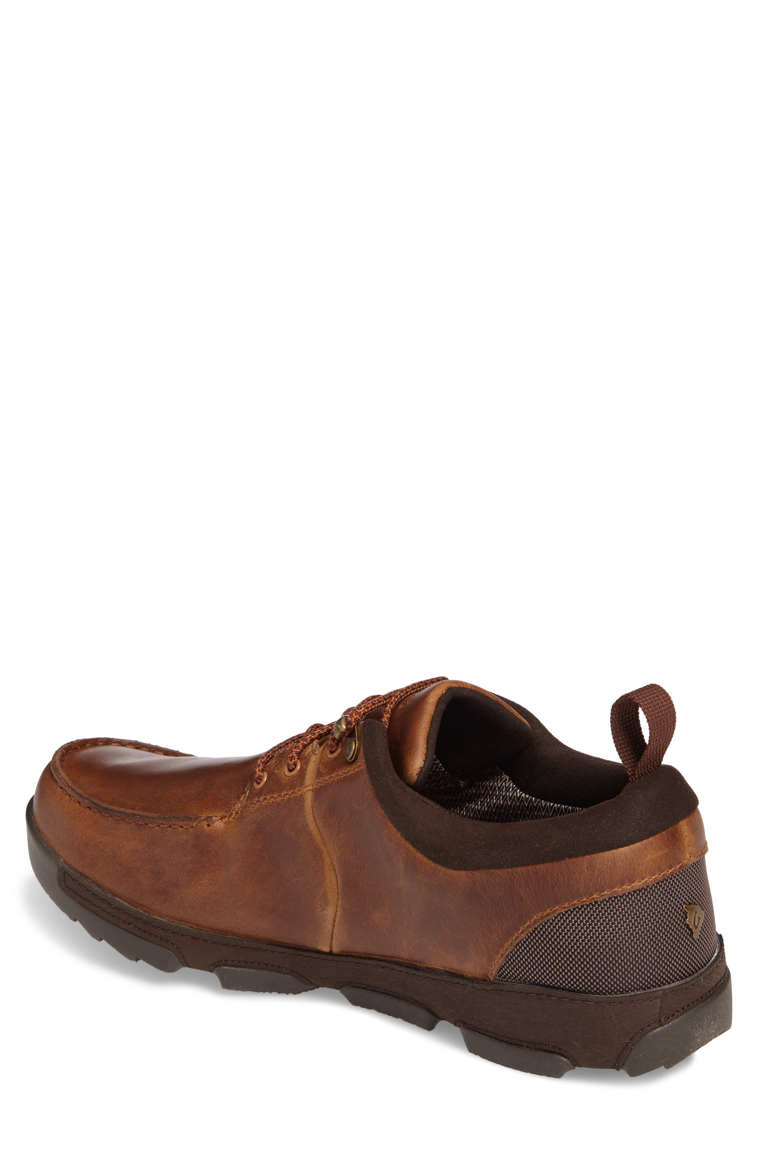 Makoa Waterproof Shoe,                             Alternate thumbnail 2, color,                             Fox/ Dark Wood Leather