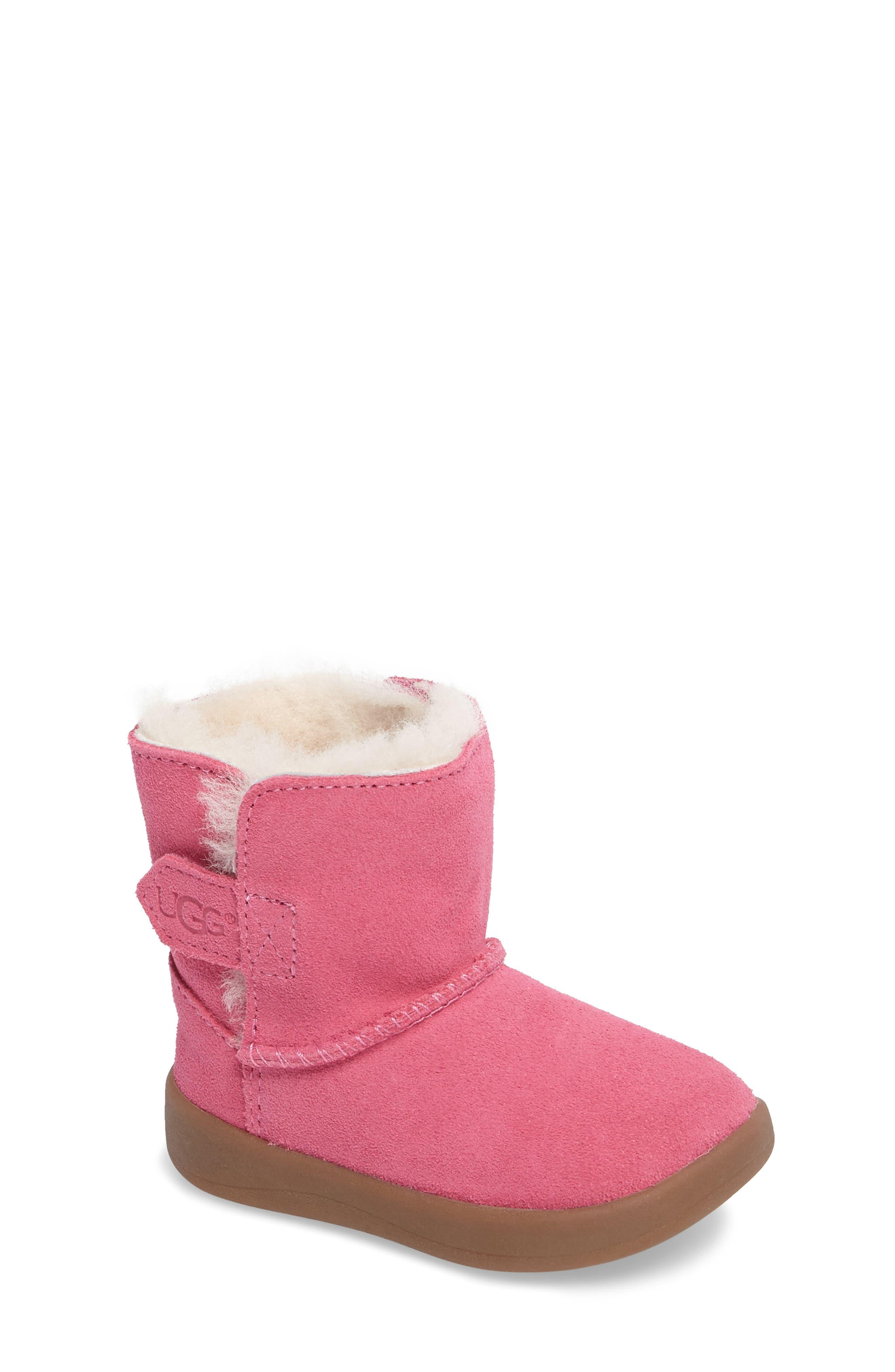 UGG® Keelan Genuine Shearling Baby Boot (Baby & Walker)