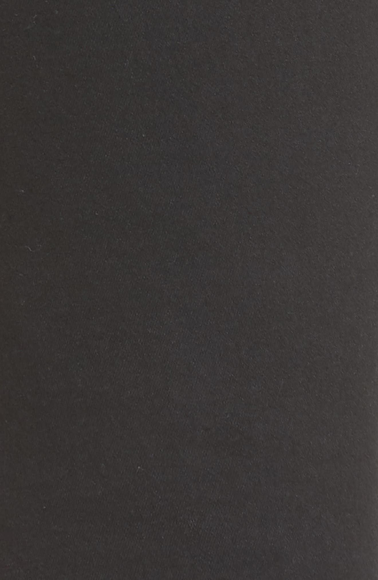 Leroy Slim Fit Jeans,                             Alternate thumbnail 5, color,                             Black Ripped Knees