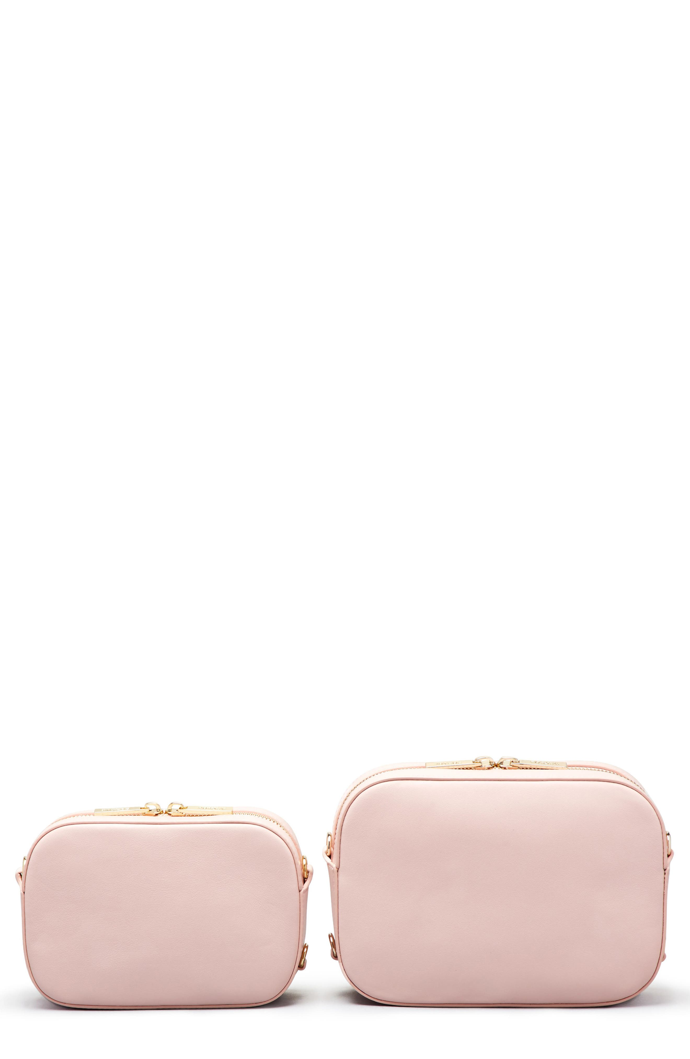 Alternate Image 8  - Pop & Suki Personalized Leather Camera Bag (Nordstrom Exclusive)