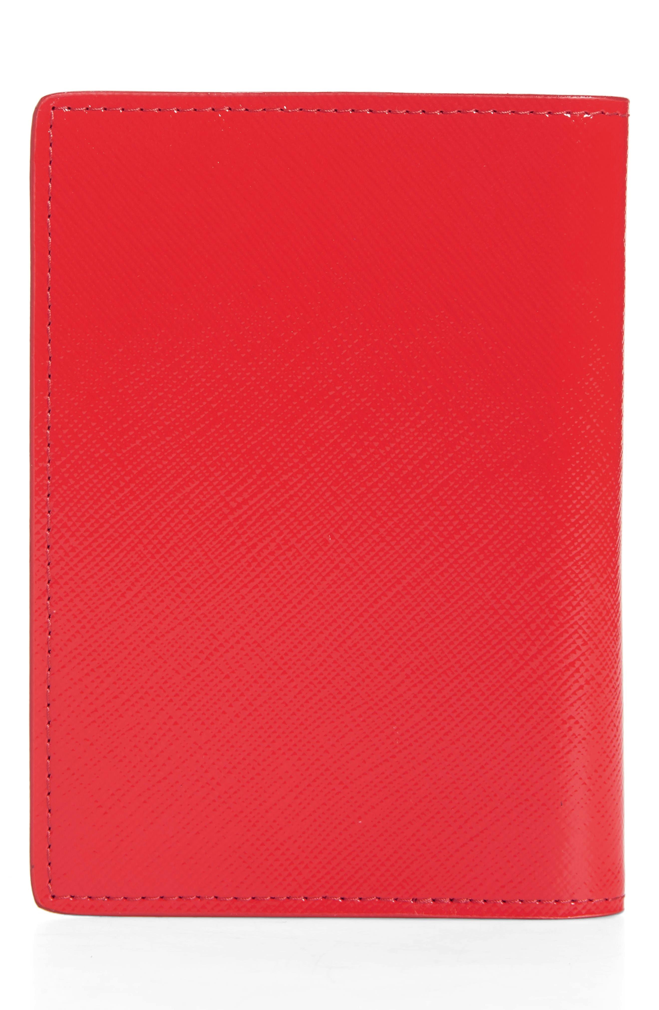 Alternate Image 2  - Nordstrom Leather Passport Case