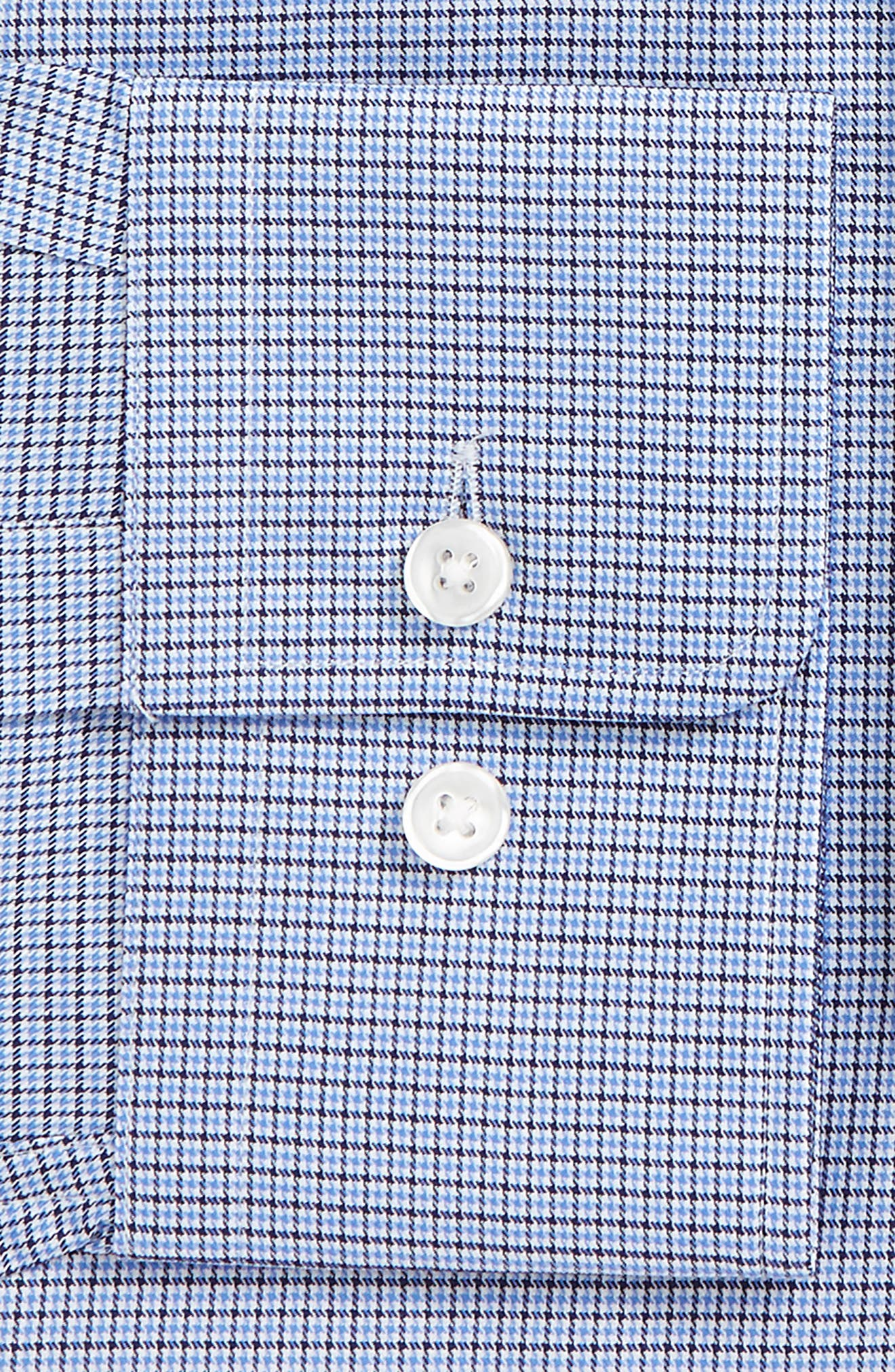 Marley Sharp Fit Dress Shirt,                             Alternate thumbnail 2, color,                             Blue