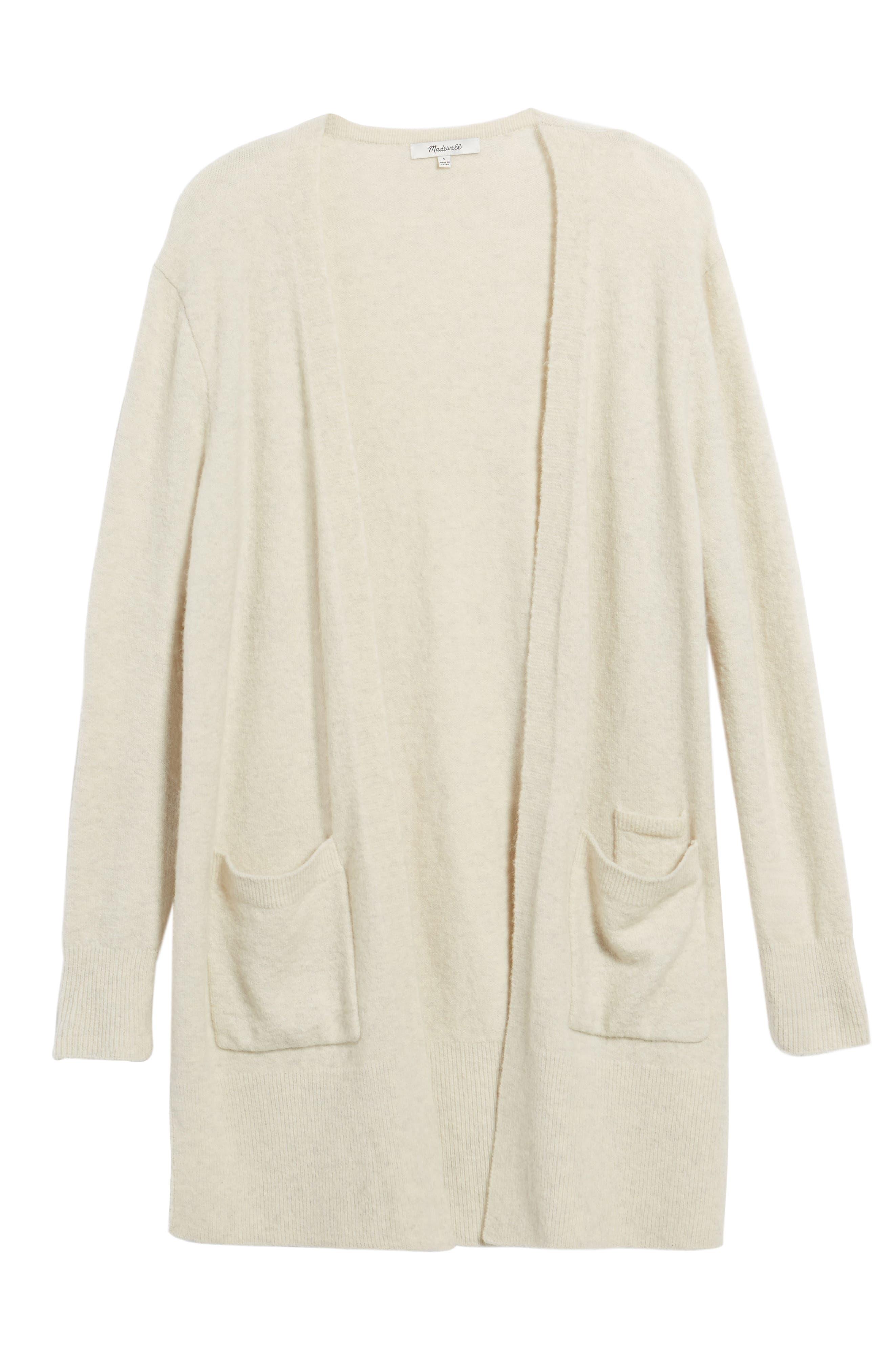 Alternate Image 1 Selected - Madewell Kent Cardigan Sweater