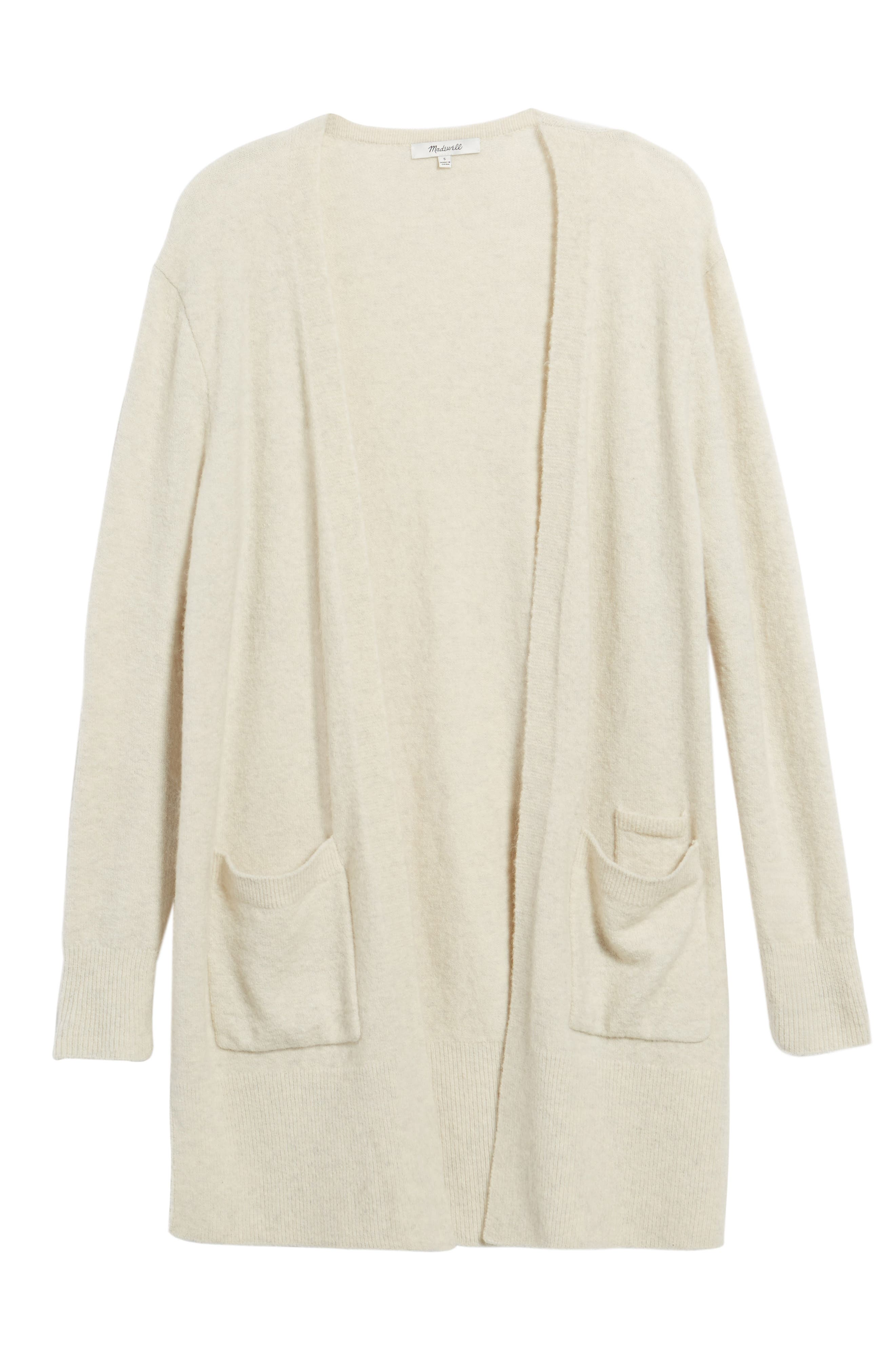 Main Image - Madewell Kent Cardigan Sweater