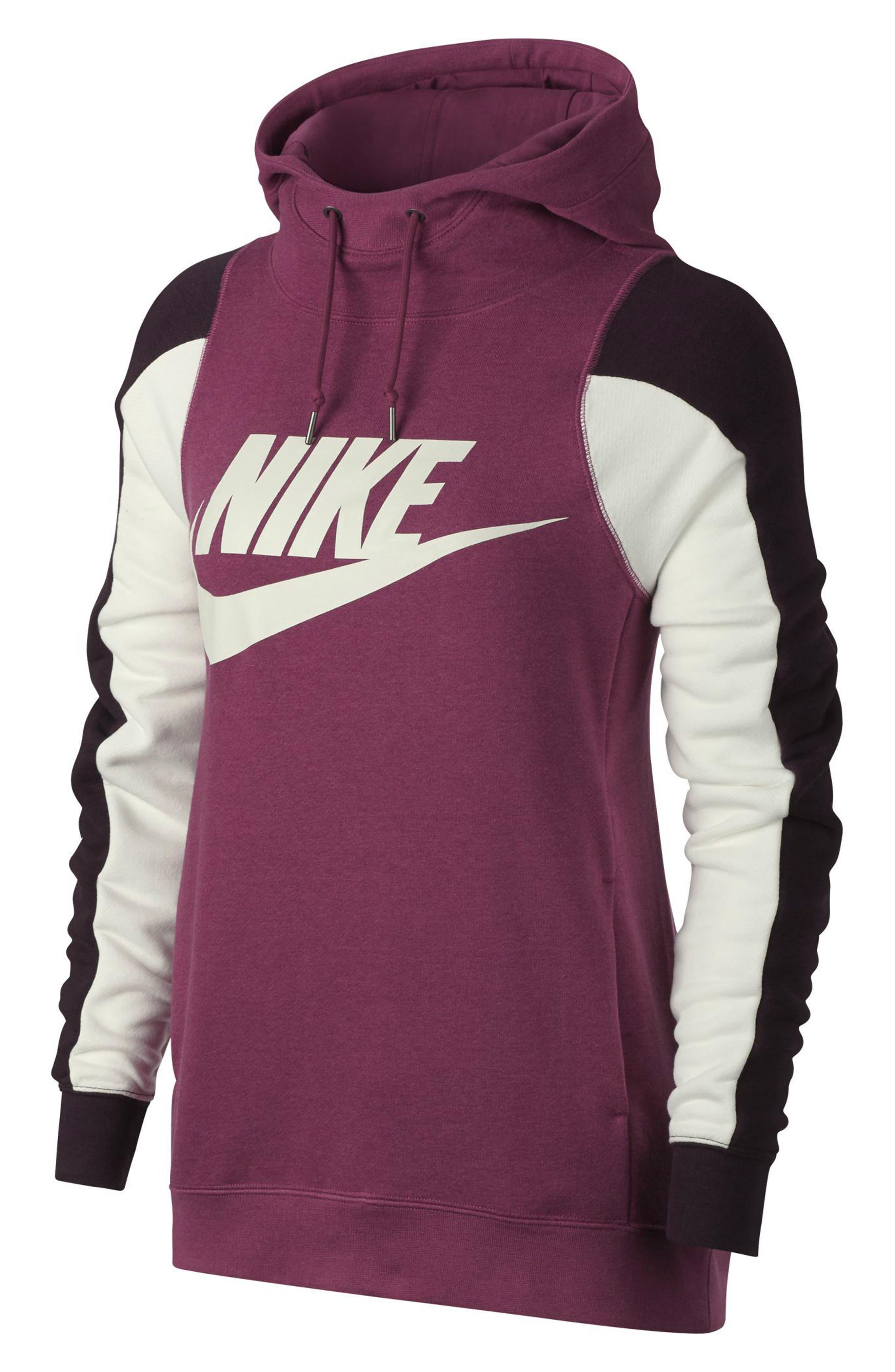 Alternate Image 6  - Nike Women's Modern Pullover Hoodie