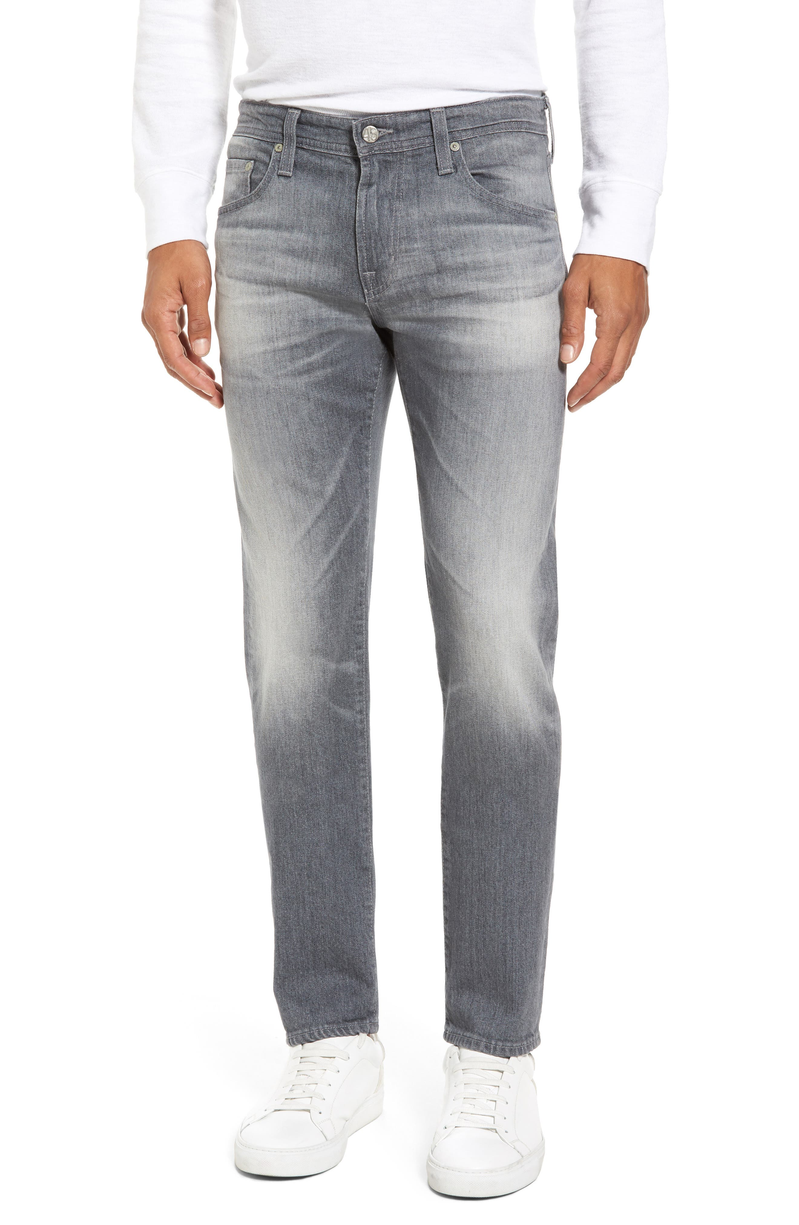 Main Image - AG Tellis Modern Slim Fit Jeans (13 Years Fortress)