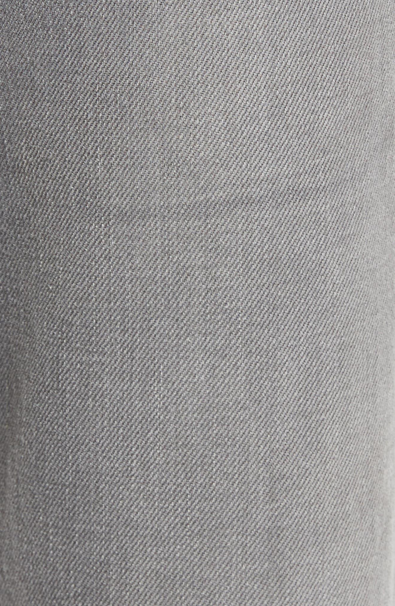 L'Homme Slim Fit Jeans,                             Alternate thumbnail 5, color,                             Grey Fox