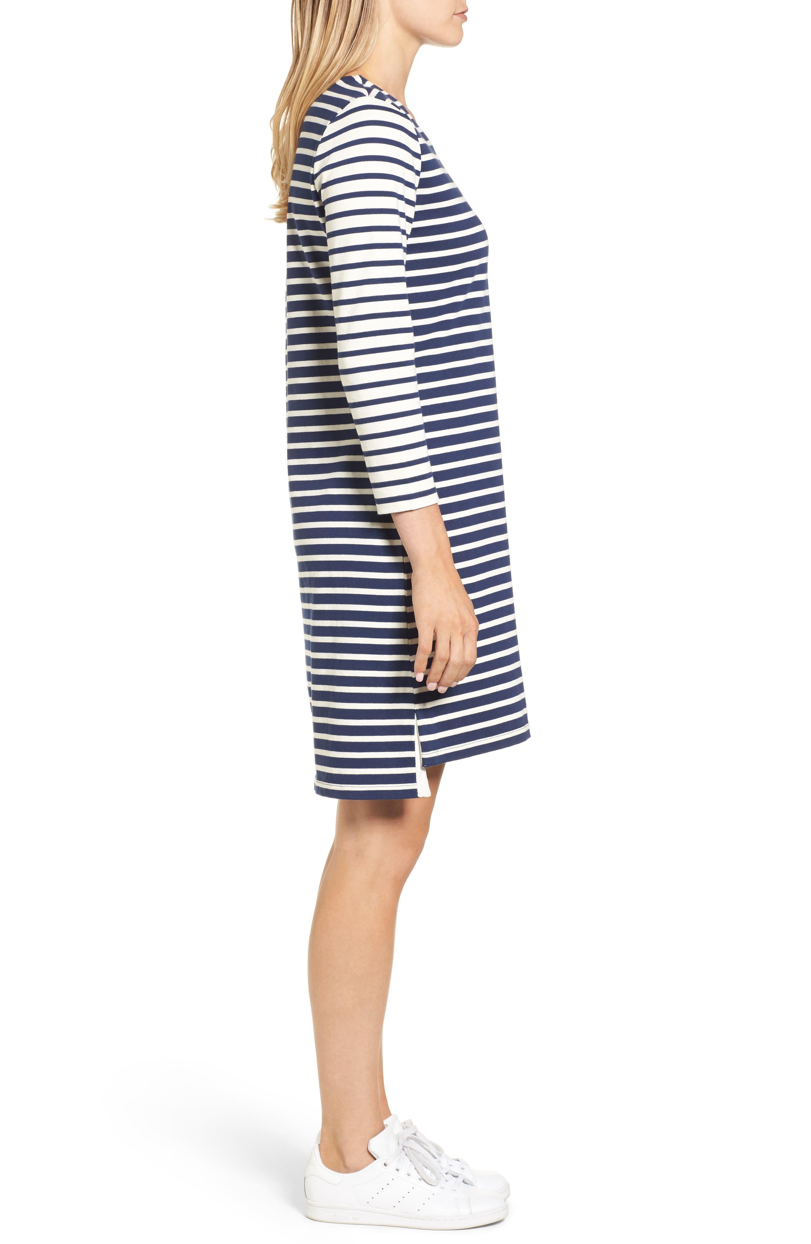 Alternate Image 3  - vineyard vines Mixed Stripe Knit Dress