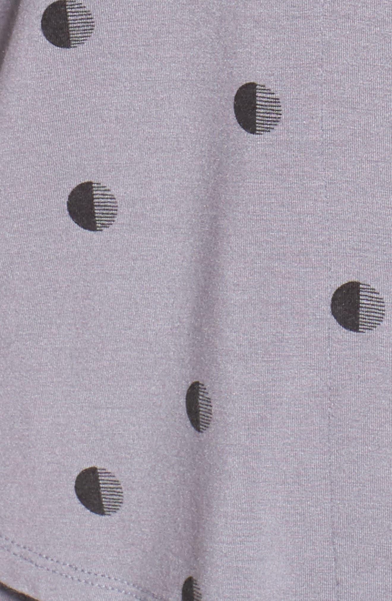 Alternate Image 5  - DKNY Jersey Pajamas