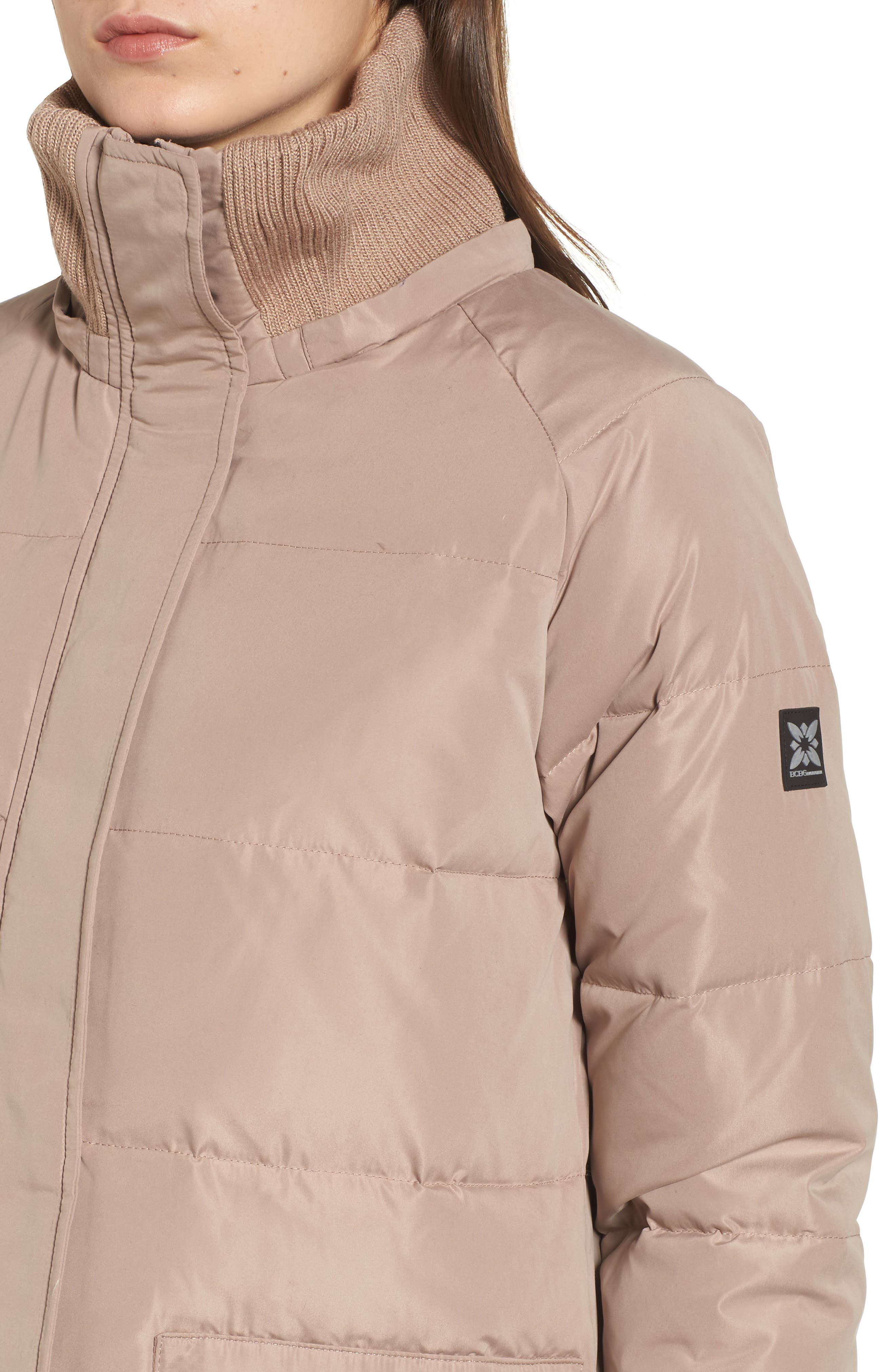 Alternate Image 5  - BCBGeneration Down & Feather Fill Puffer Jacket