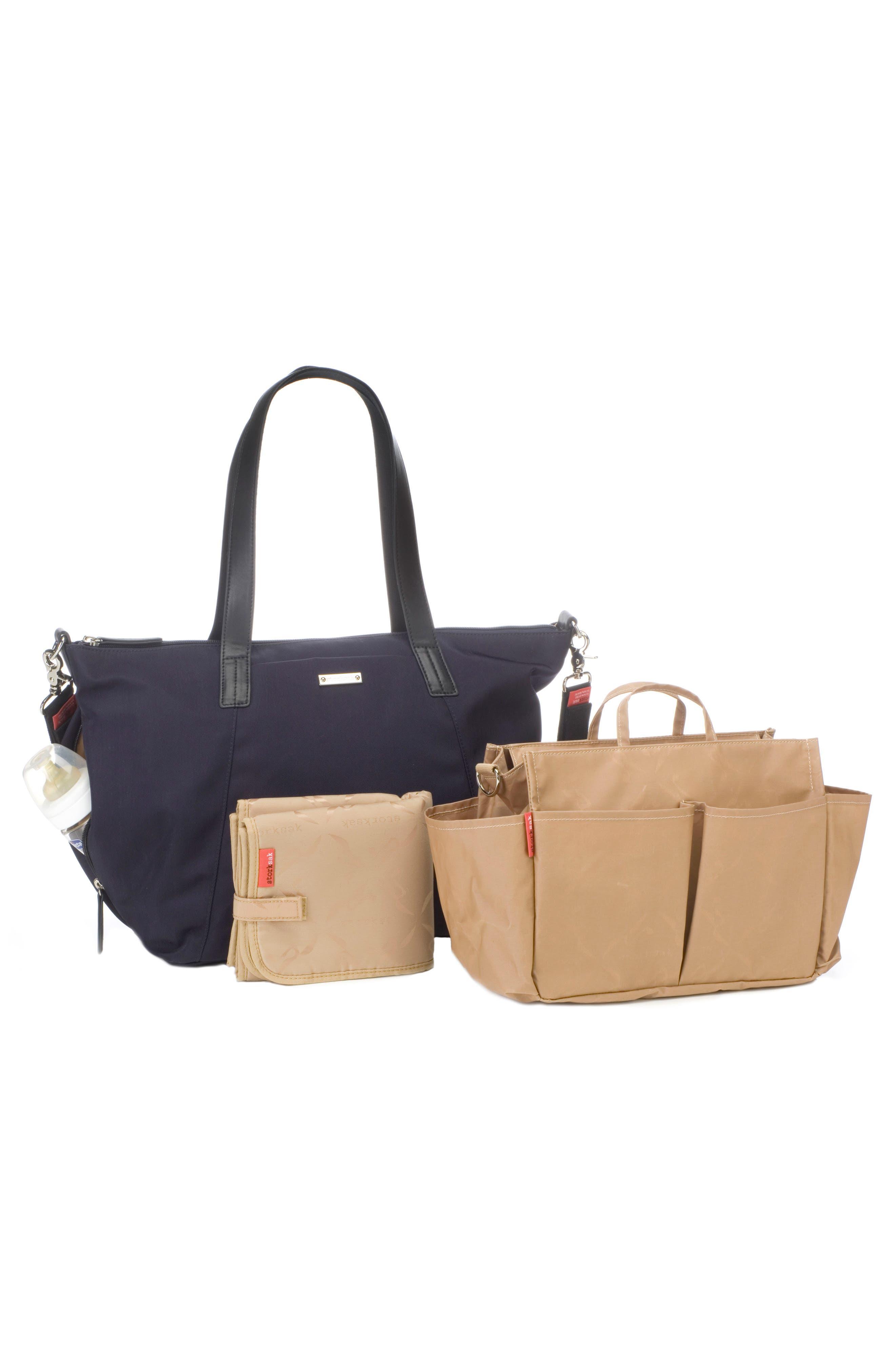 Noa Luxe Diaper Bag,                             Alternate thumbnail 2, color,                             Midnight Blue