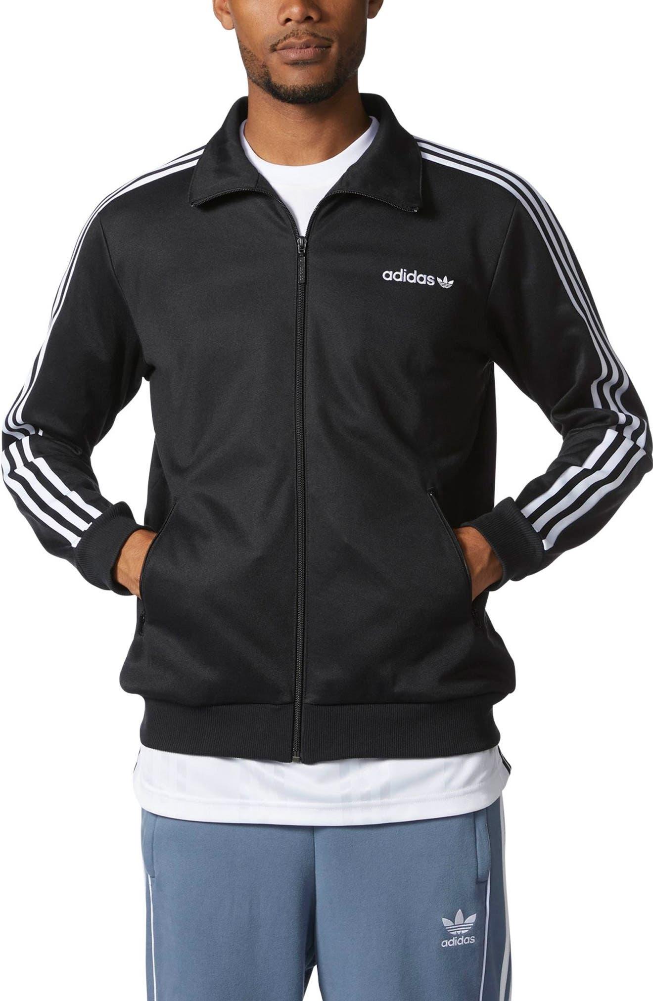 Beckenbauer Track Jacket,                             Main thumbnail 1, color,                             Black
